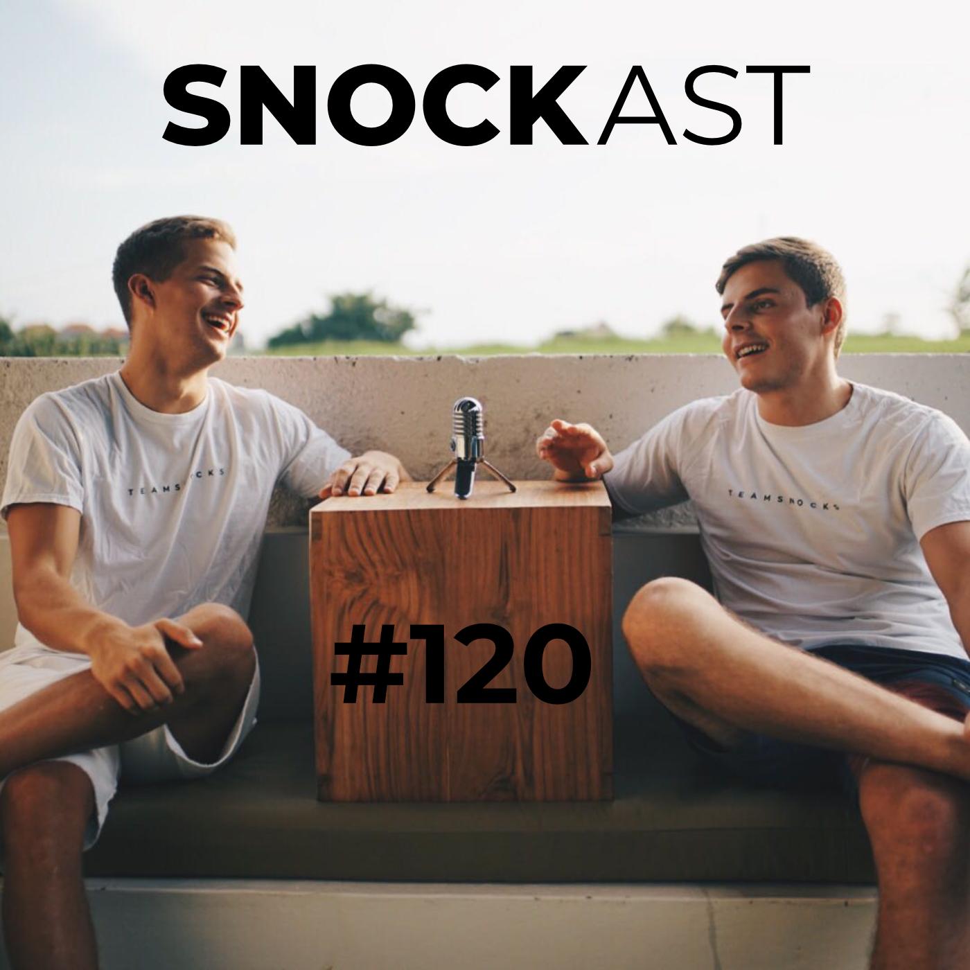 #120 – #aboutsnocks – Erster Late-Night-Talk von Johannes und Maxi rund um SNOCKS