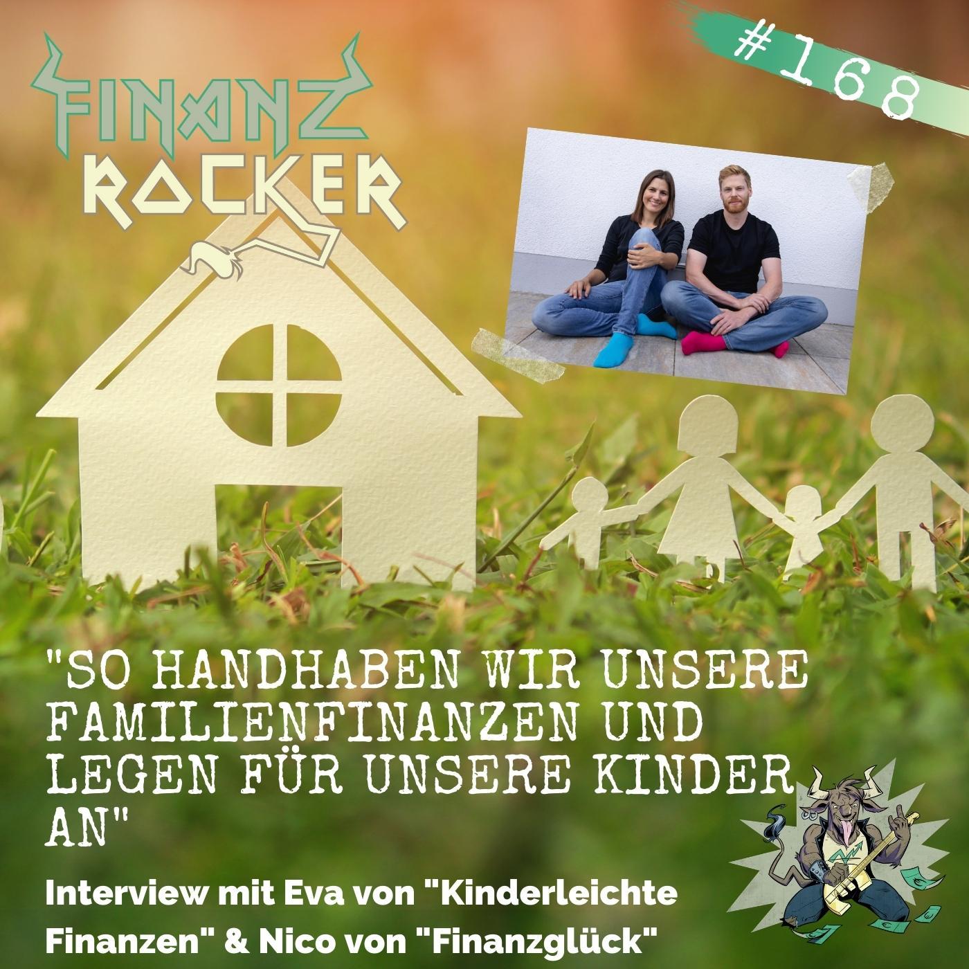 """Folge 168: """"So handhaben wir unsere Familienfinanzen und legen für unsere Kinder an"""" - Interview mit Eva und Nico"""