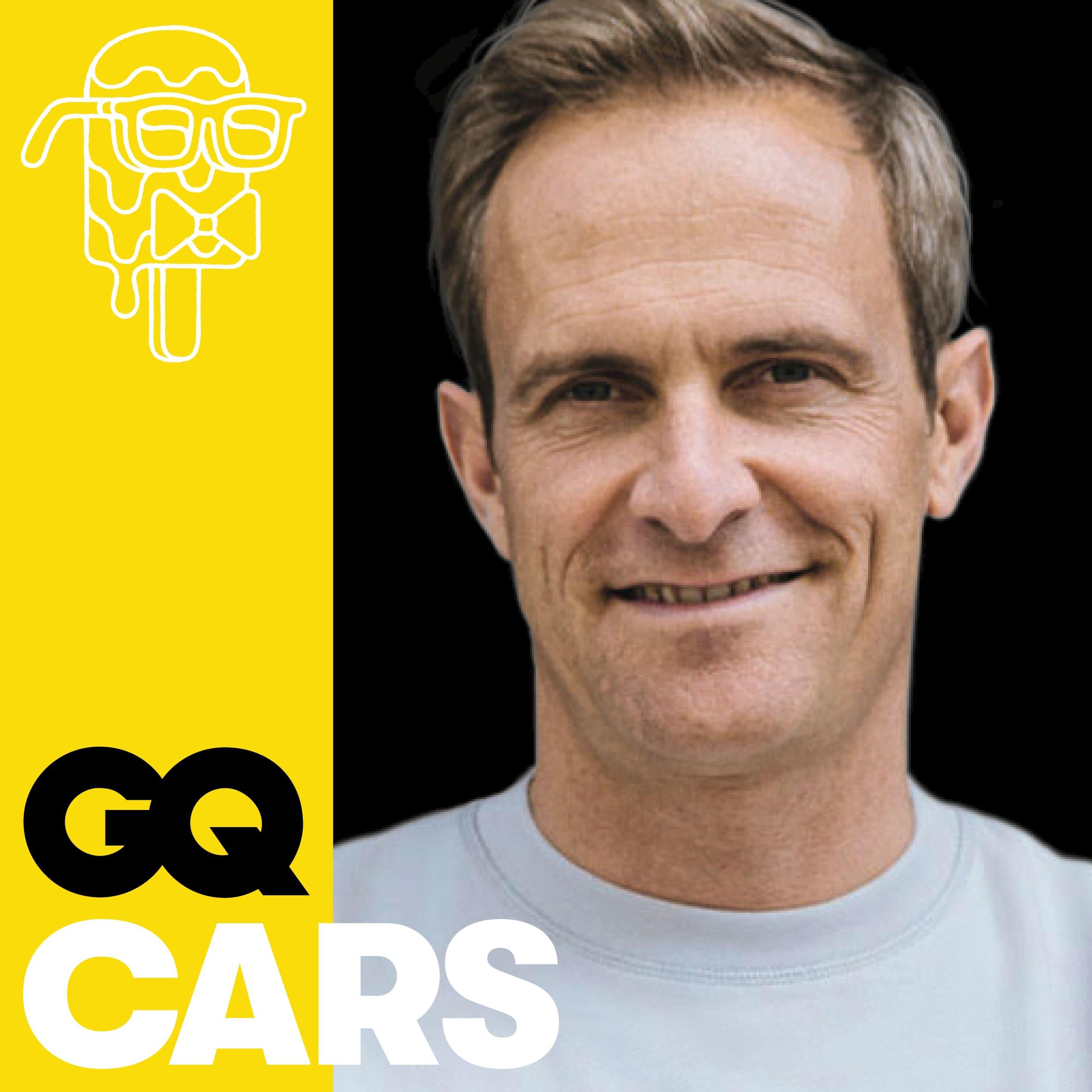 Matthias Malmedie mit Porsche Design-Chef Michael Mauer