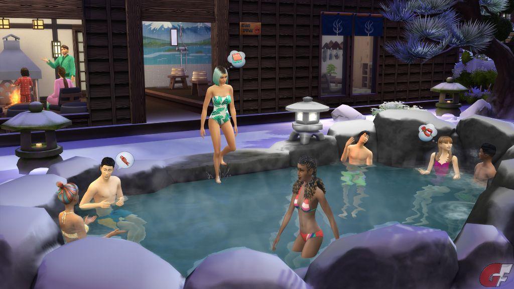 die Sims 4 - Ab ins Schneeparadies Test