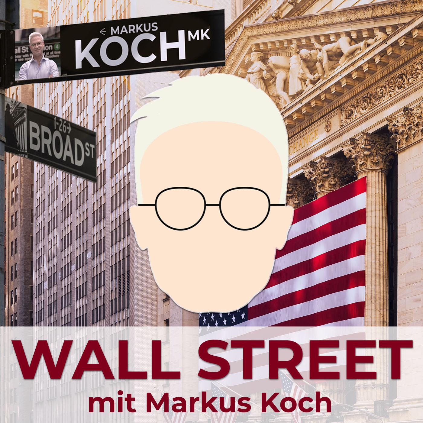 Geld-Regen an der Wall Street