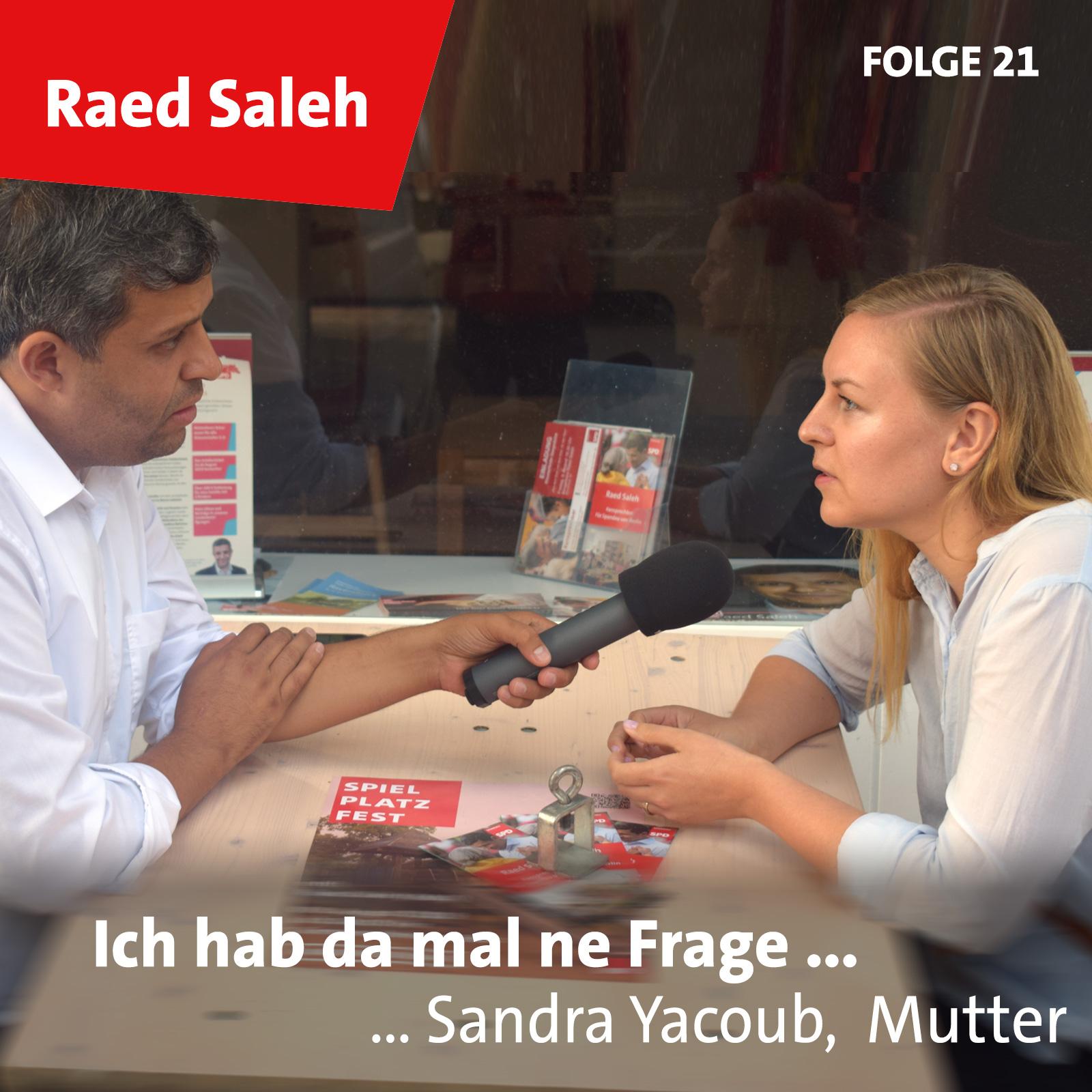 Folge 21: Sandra Yacoub