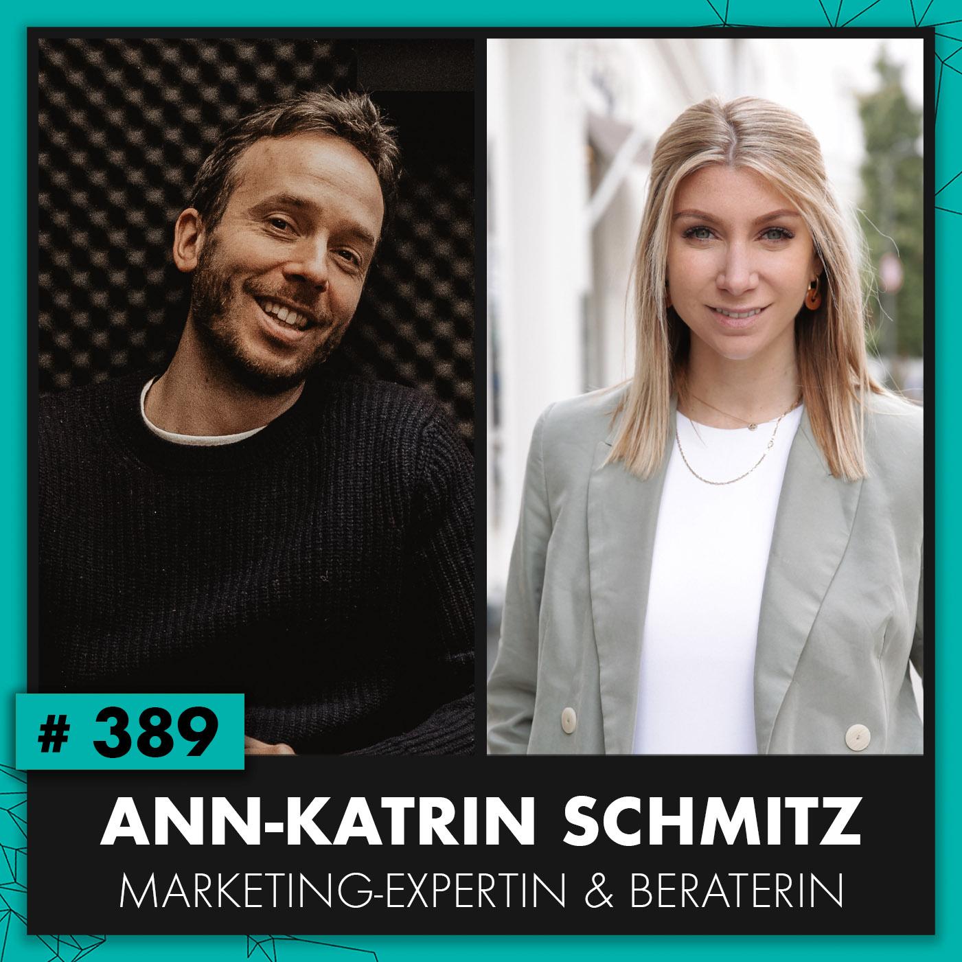 OMR #389 Anni Schmitz: Erst Novalanalove-Gründerin, heute Business-Influencerin