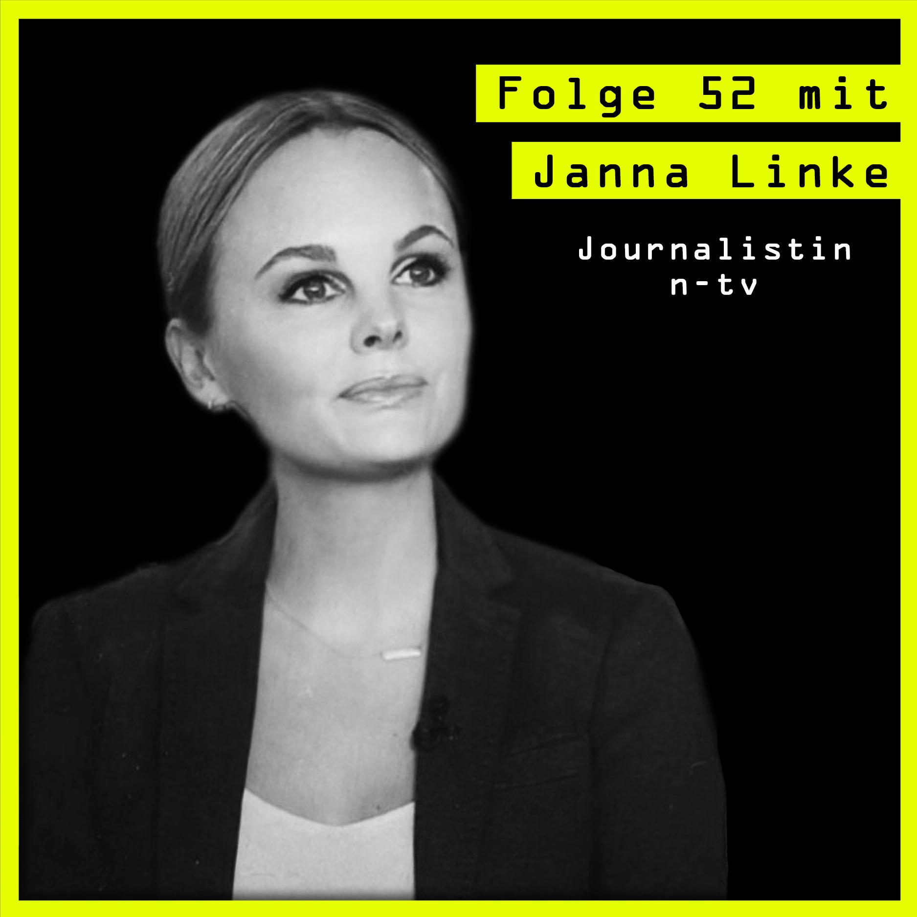#52 mit Janna Linke (Journalistin, ntv) über klassisches TV, entrepreneurial parentship und Dos&Donts