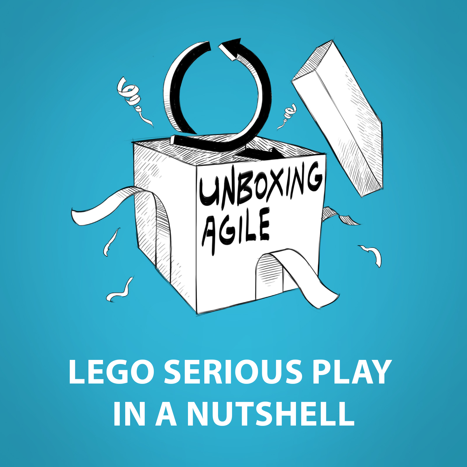 Agile Spiele ua013 - lego serious play in a nutshell - unboxing agile