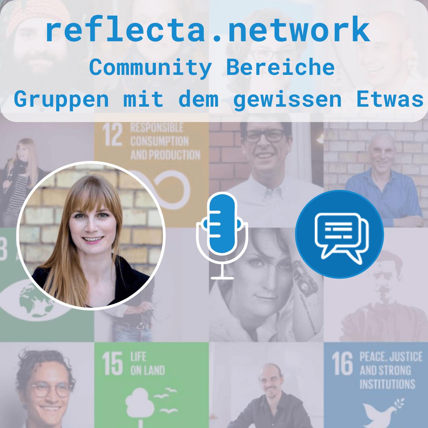 reflecta Community-Bereiche: Gruppen für Changemaker:innen