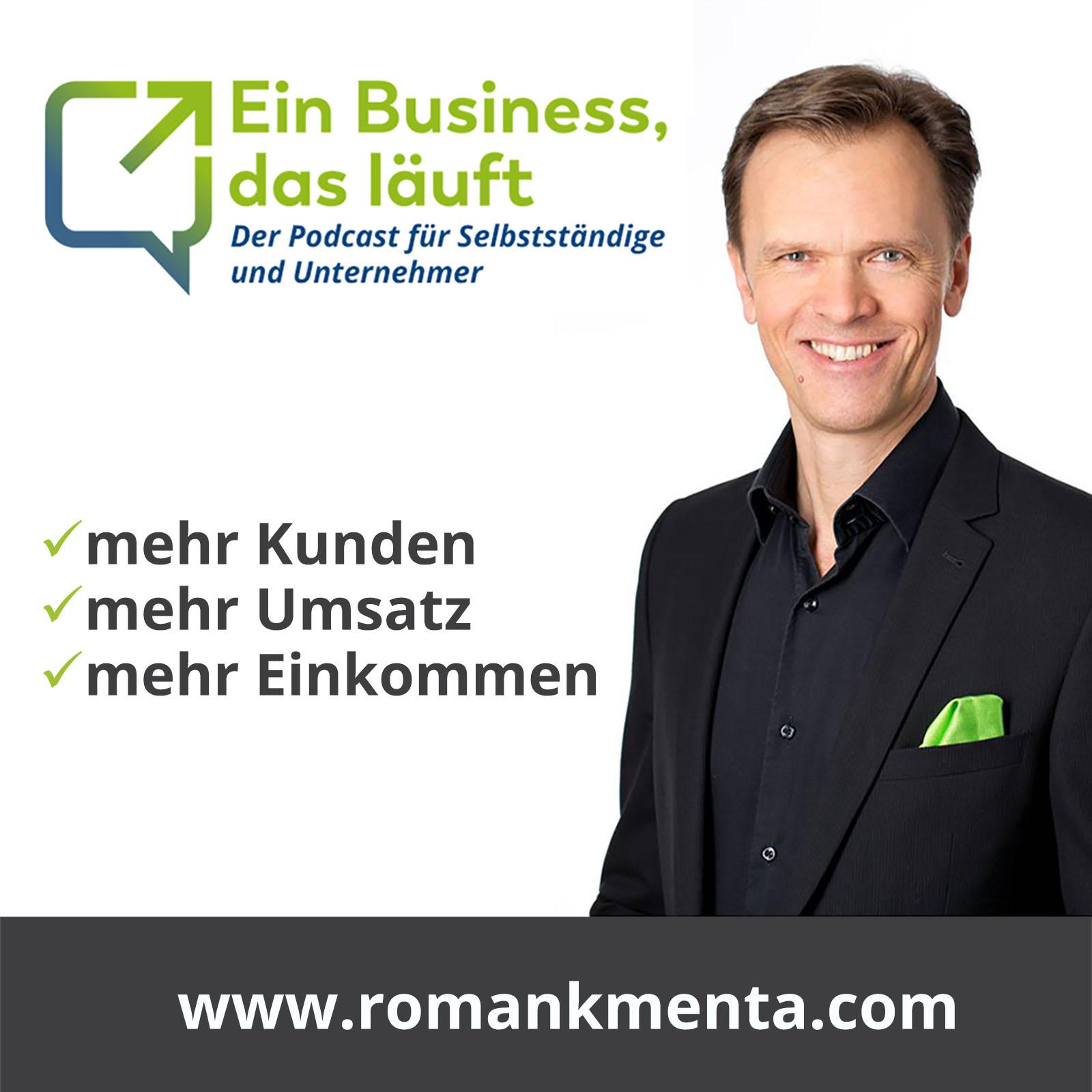 Ein Business, das läuft - Der Podcast für Selbstständige und Unternehmer