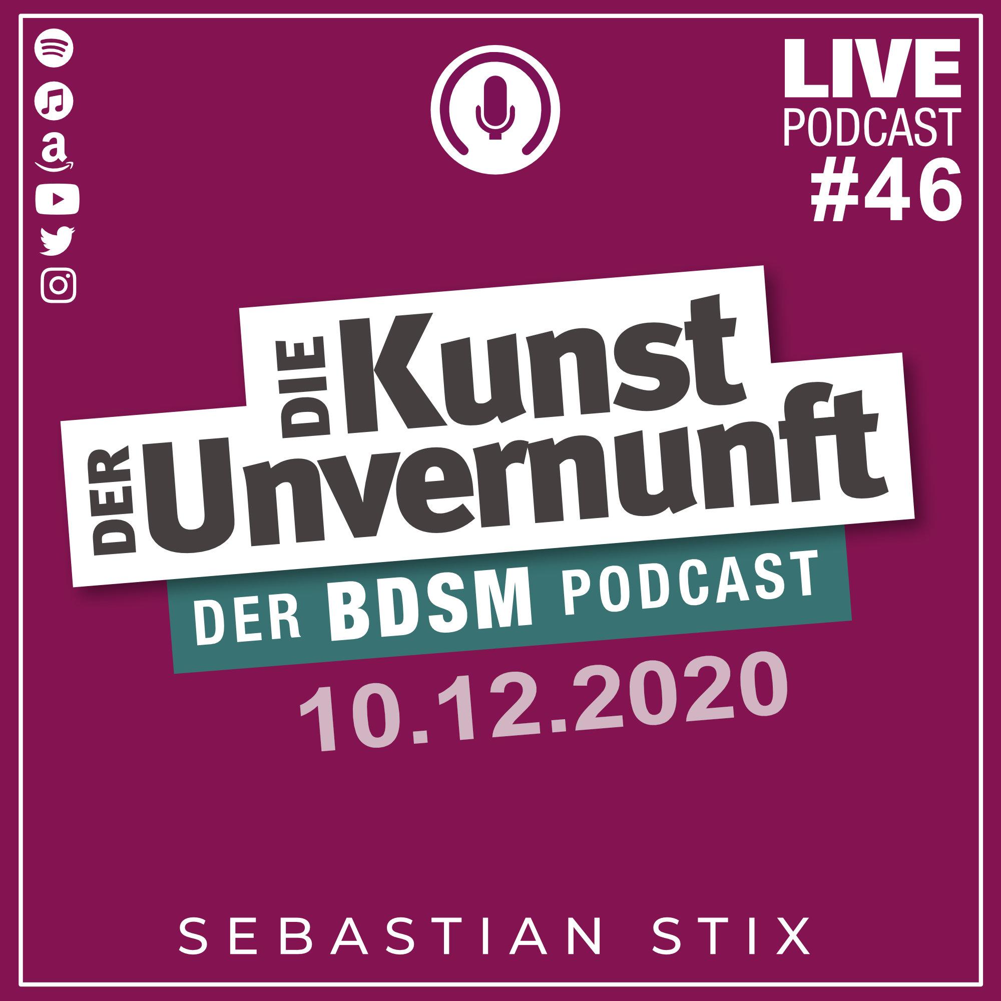 Unvernunft Live 10.12.2020 - Was zu Feiern und was vom scheitern