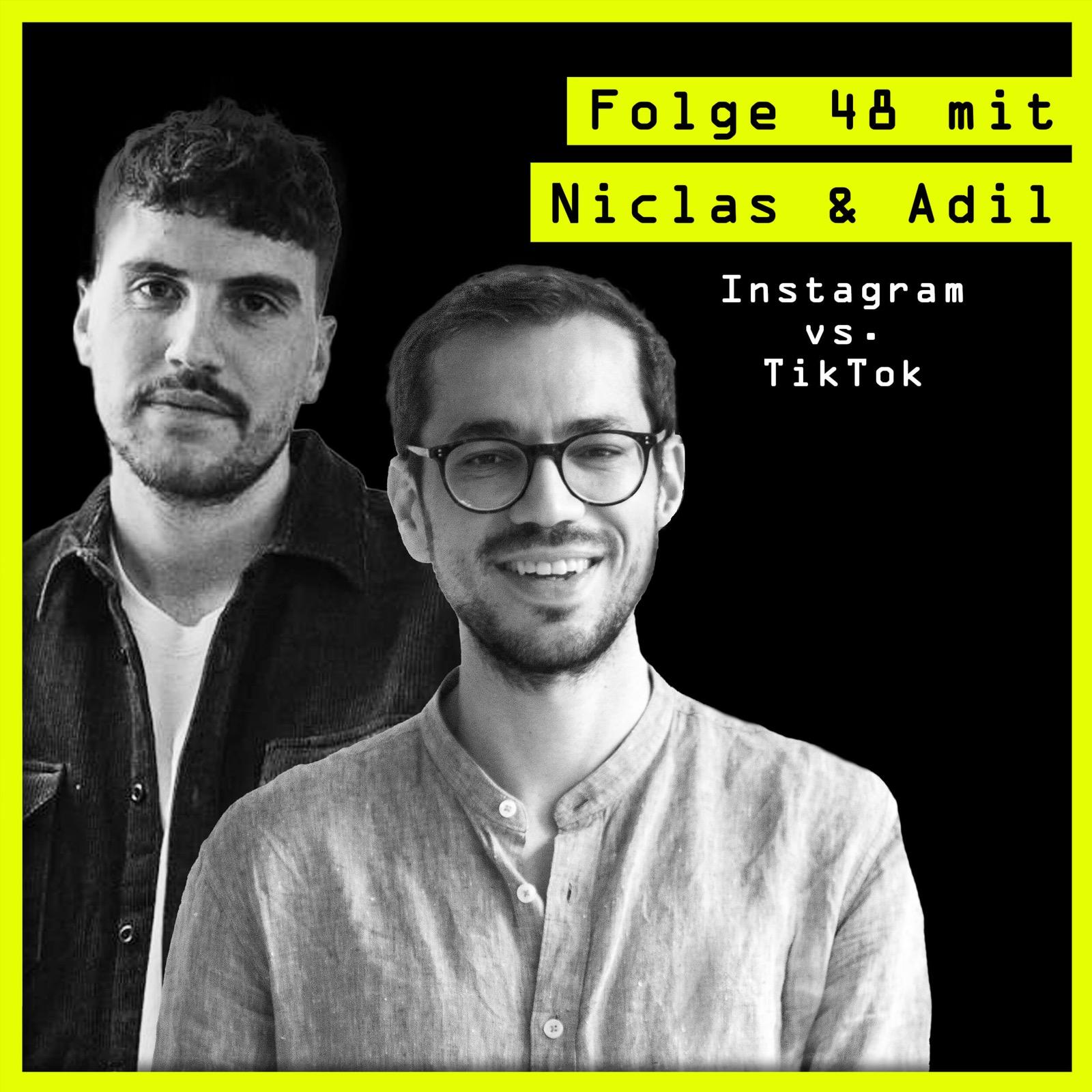 #48 mit Niclas Kroll (CEO, hypelab GbR) und Adil Sbai (CEO, weCreate): über Instagram vs. TikTok