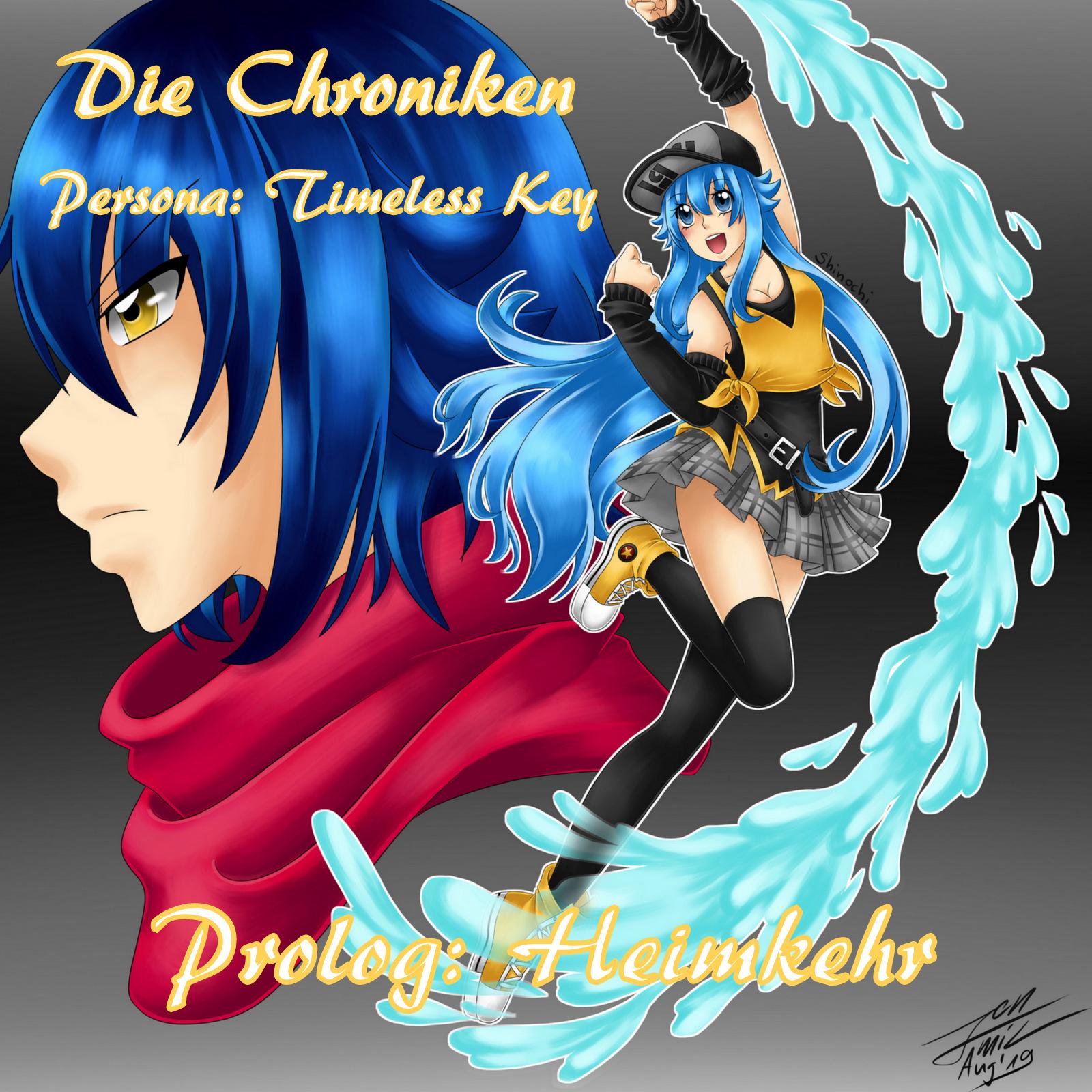Persona - Timeless Key 001 - Prolog: Heimkehr