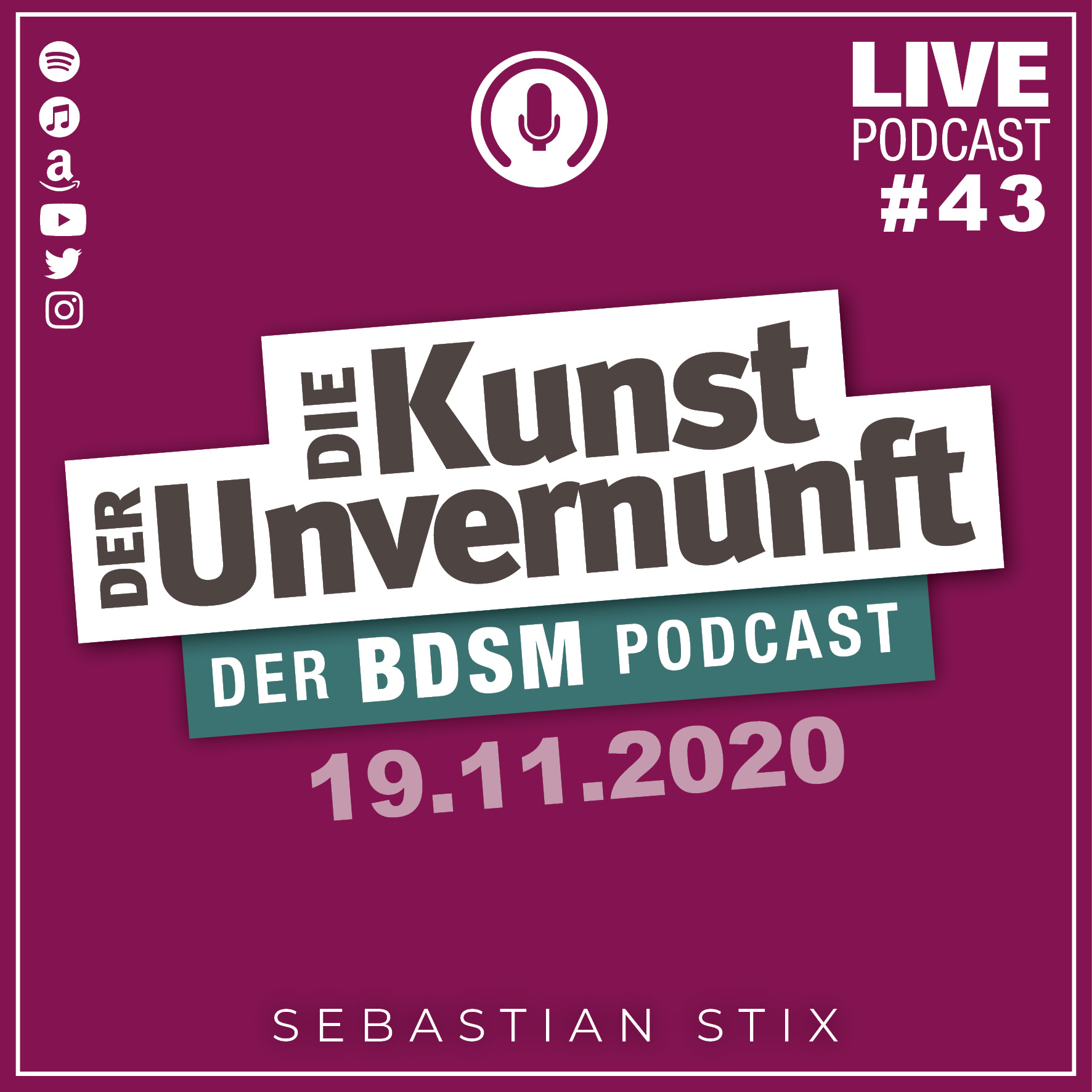 Unvernunft Live 19.11.20 - Podcast-Upgrade 2020