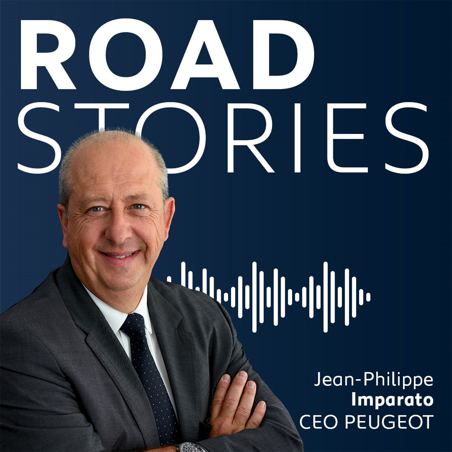 Road Stories, le podcast de Jean-Philippe Imparato, CEO de Peugeot