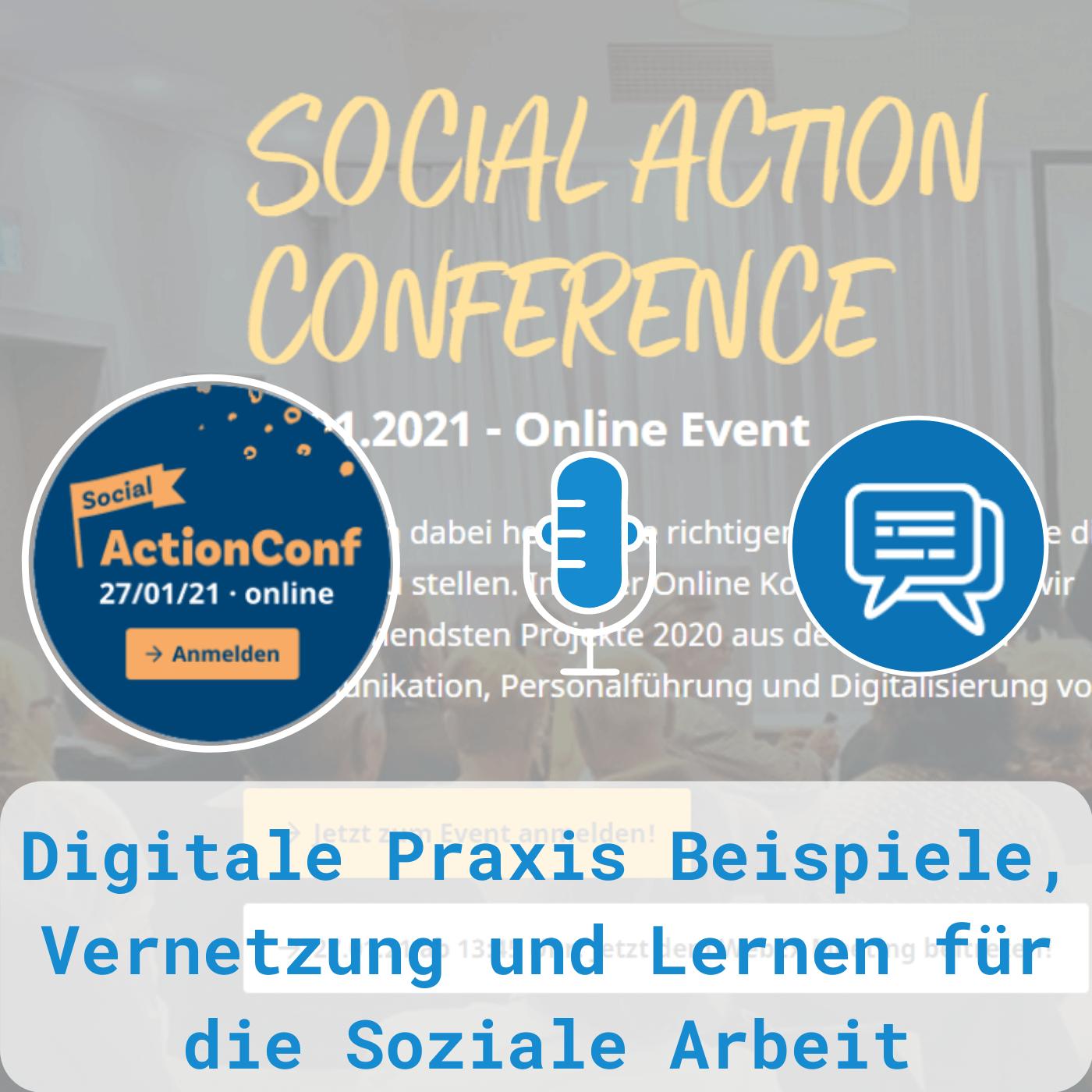 Social Action Conference: Digitale Praxis von der Sozialwirtschaft, für die Sozialwirtschaft