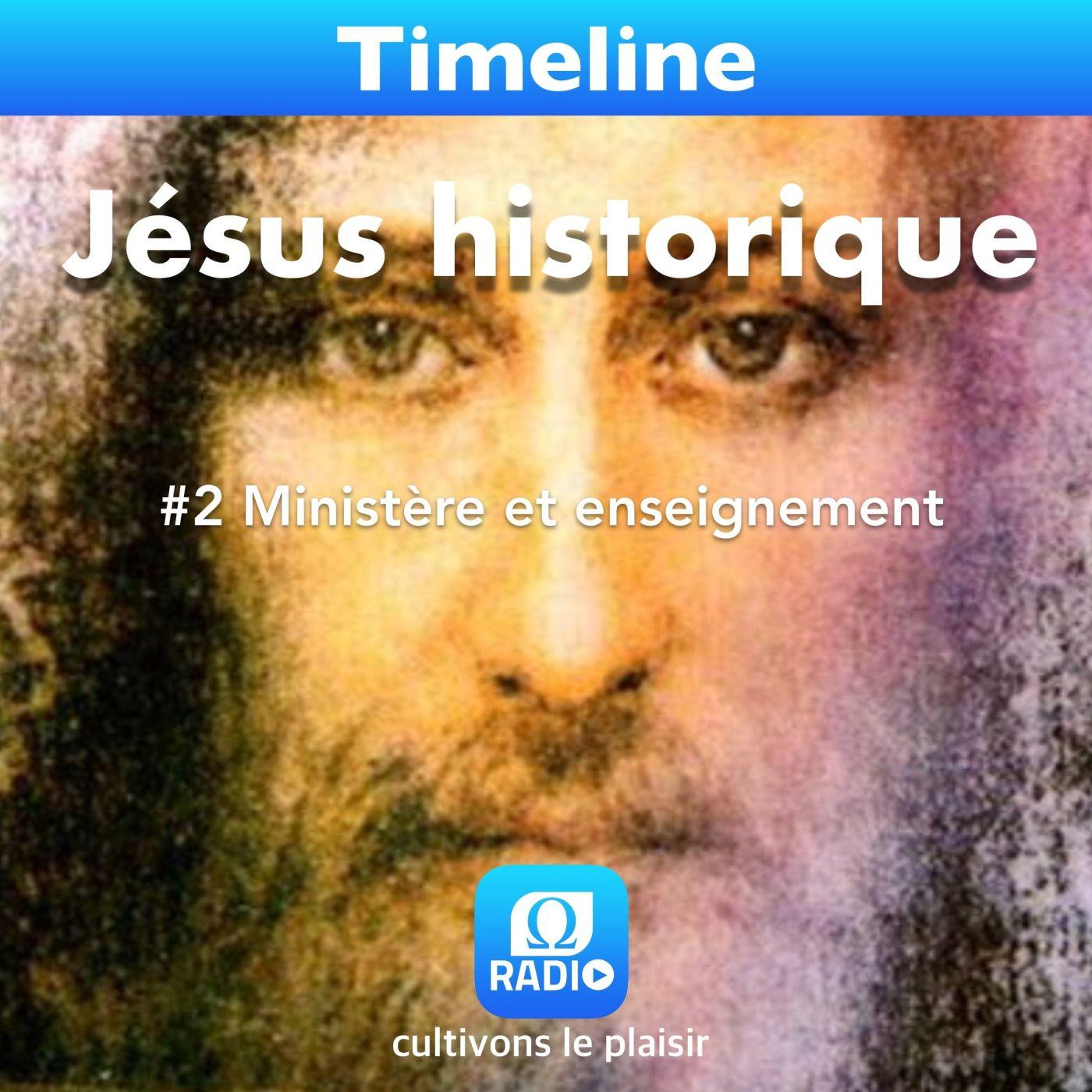 Jesus historique #2 Ministère et enseignement