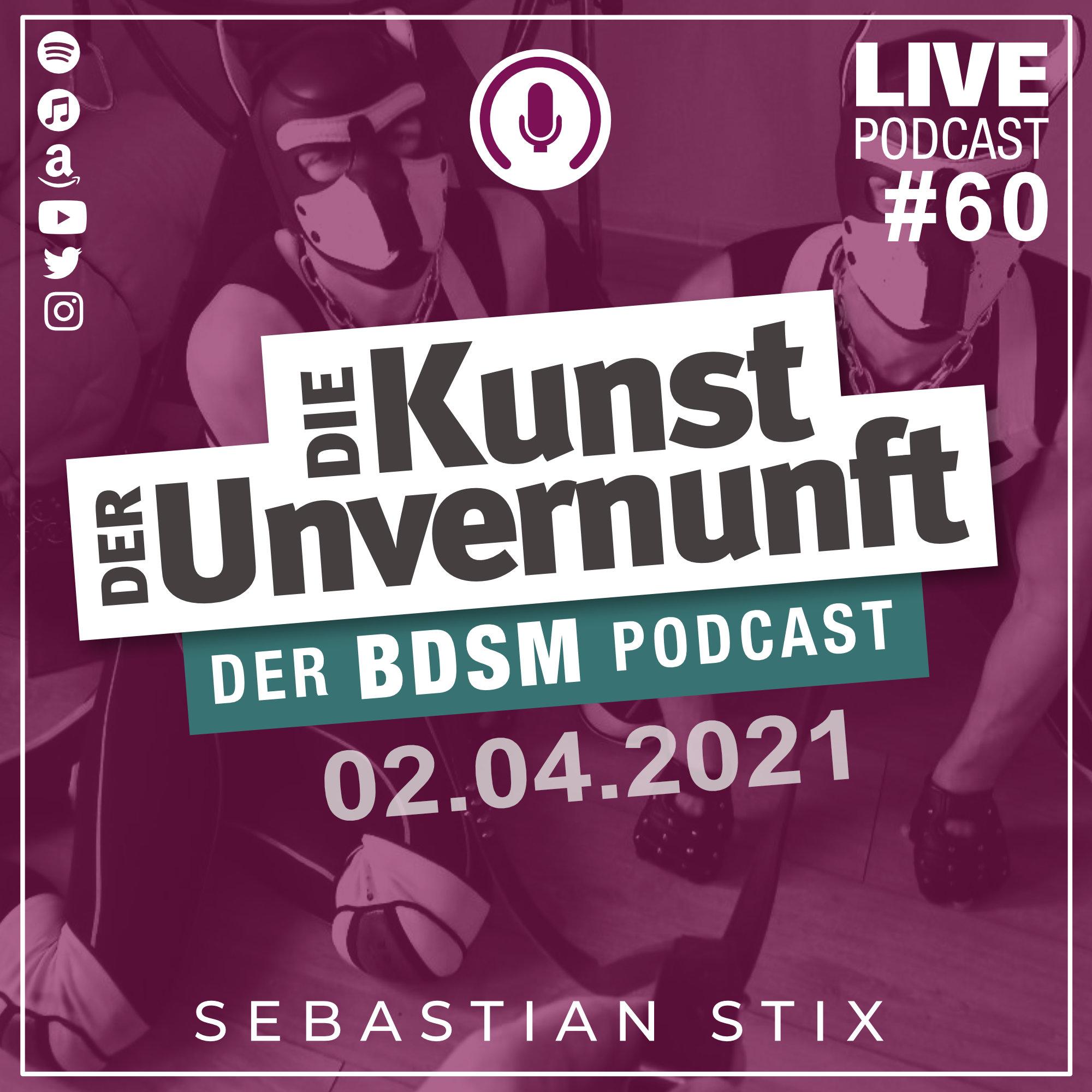 Unvernunft Live 01.04.2021 - Puppyplay mit Dan Apus Monoceros
