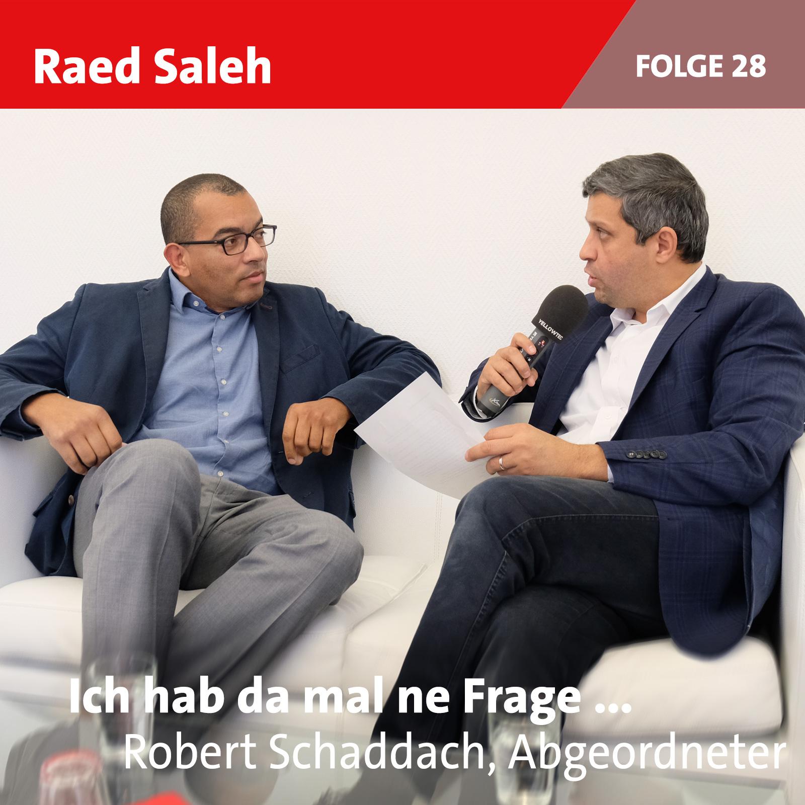 Folge 28: Robert Schaddach (Sonderpodcast)
