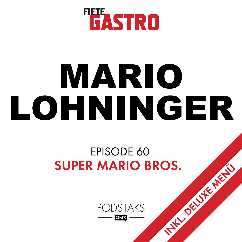 #60 Super Mario Bros. inkl. Deluxe Menü - mit Mario Lohninger