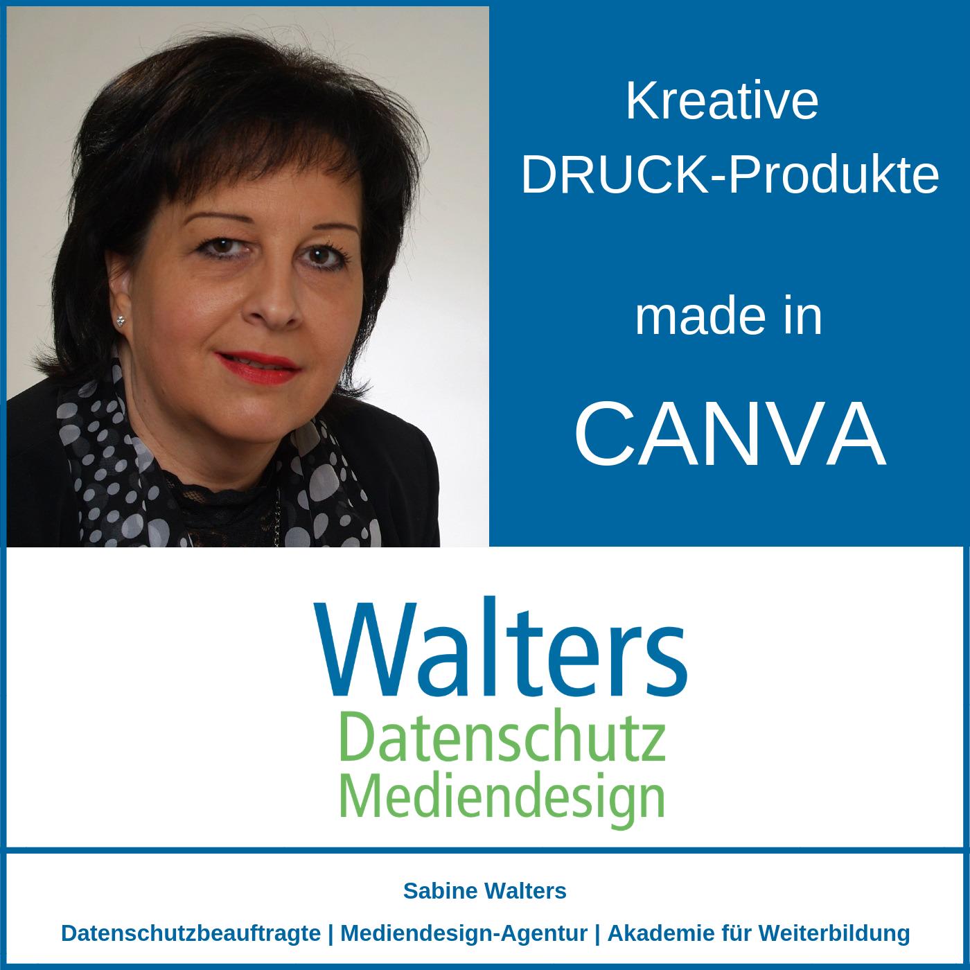 Kreative Druck Produkte Made In Canva Dsgvo Und Online
