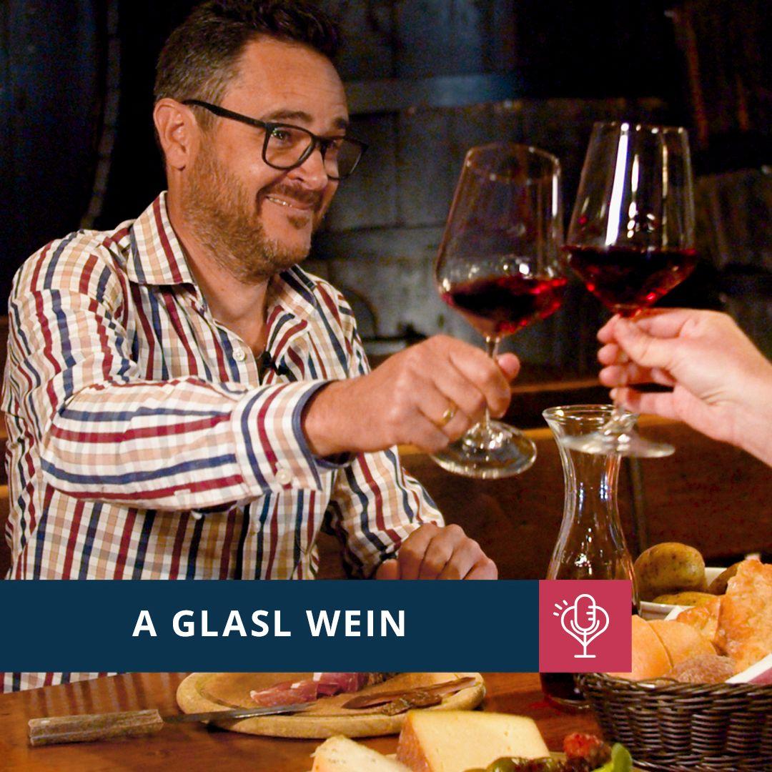 A Glasl Wein