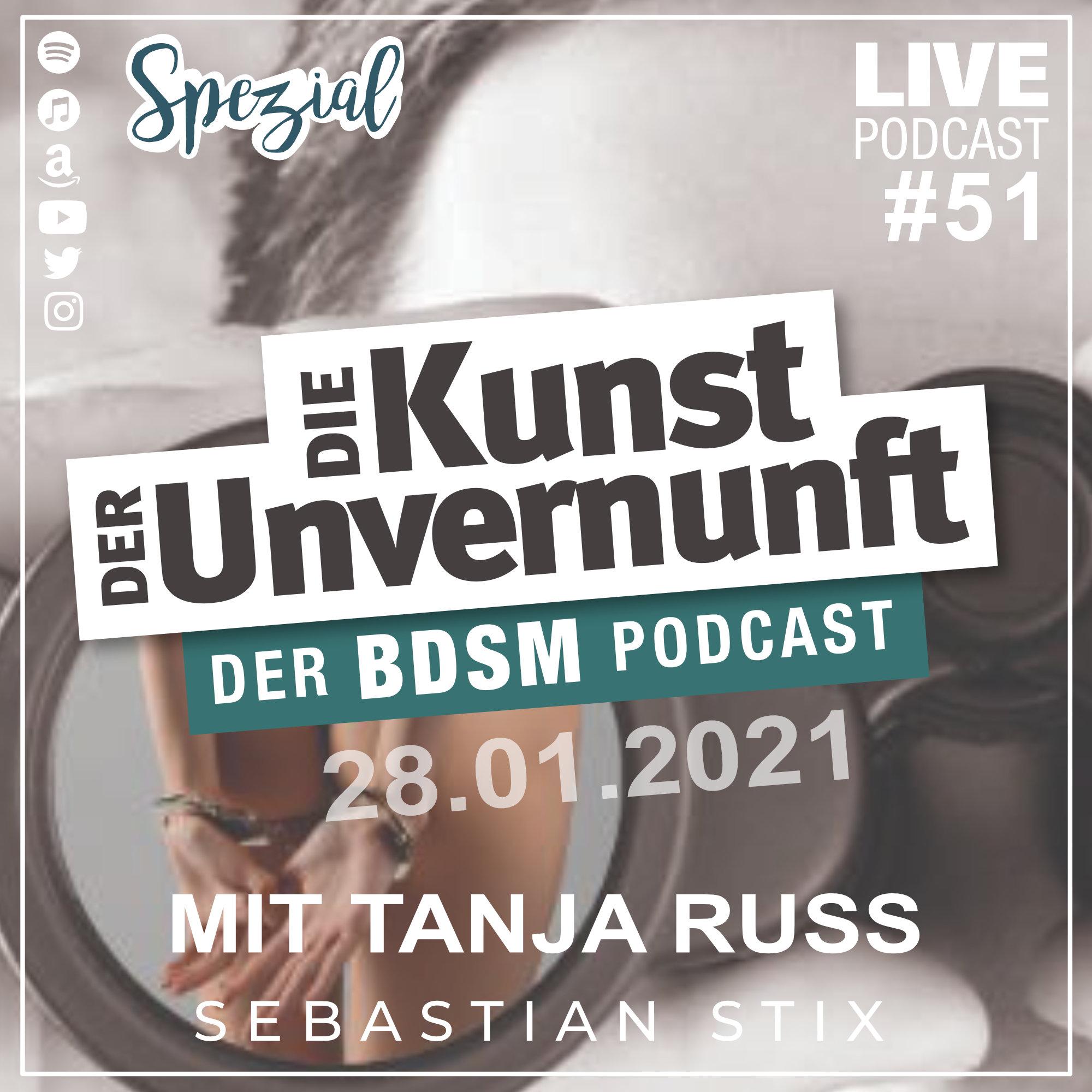 Unvernunft Live Spezial 28.01.2021 - Leseabend mit Tanja Russ