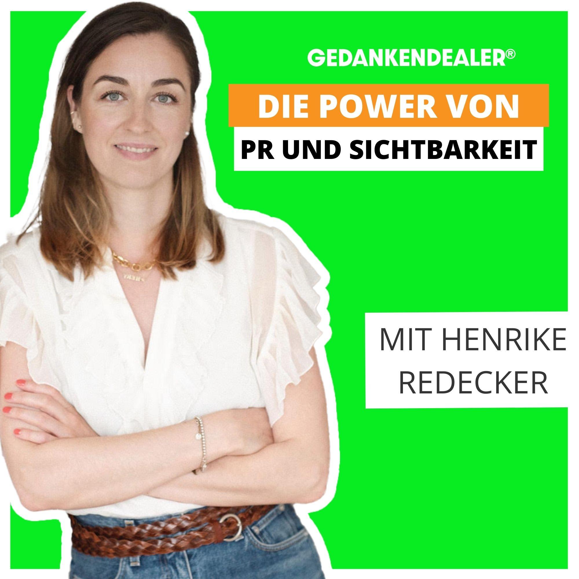 Die Power von PR und Sichtbarkeit im Talk mit Henrike Redecker