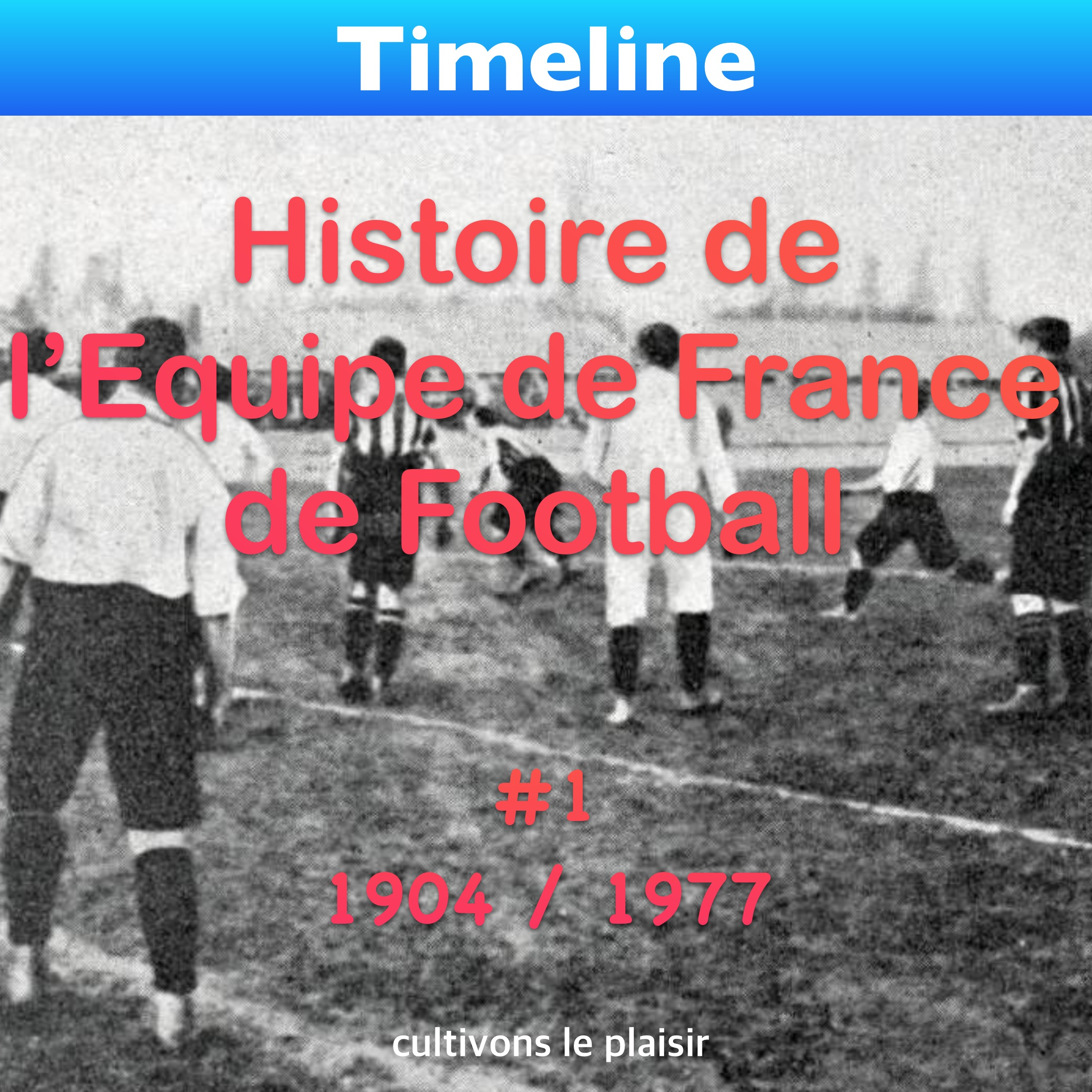 Histoire de l'Equipe de France de Football
