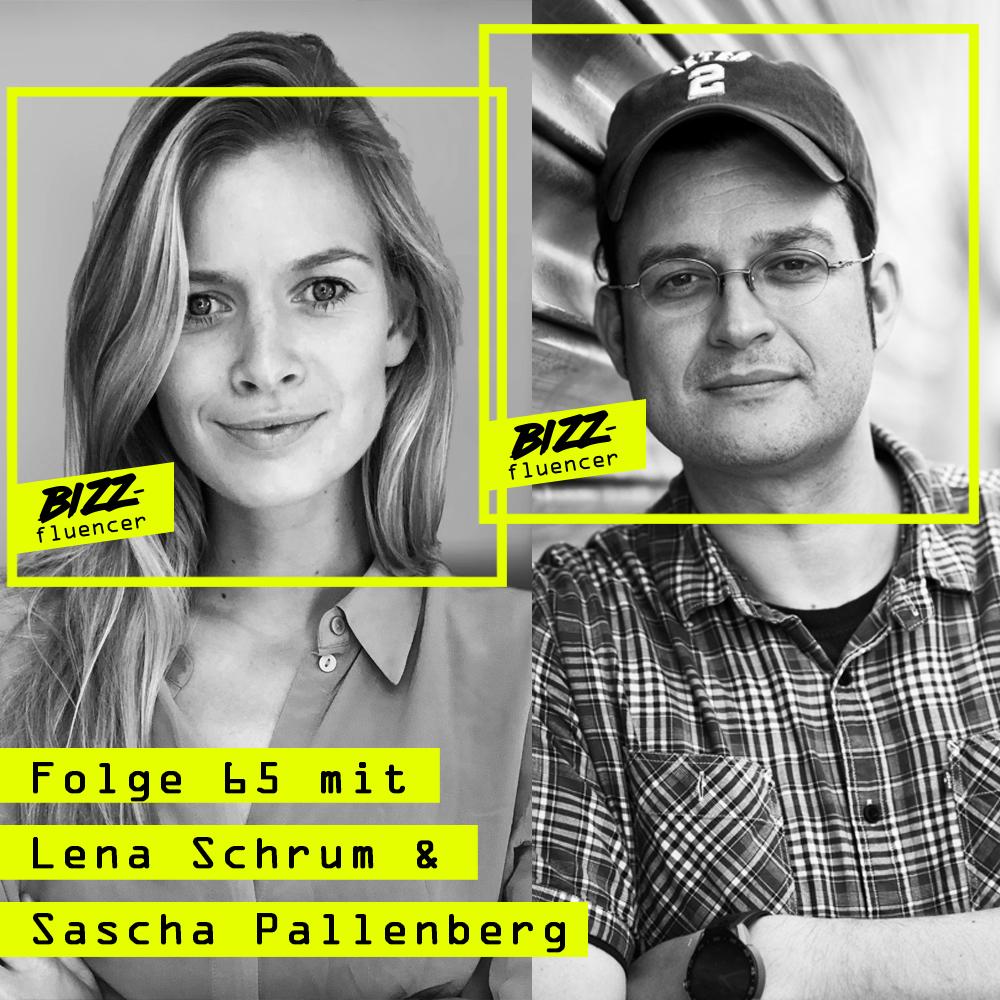 #65 mit Lena Schrum (Co-Founderin) und Sascha Pallenberg (Chief Awareness Officer) bei aware The Platform