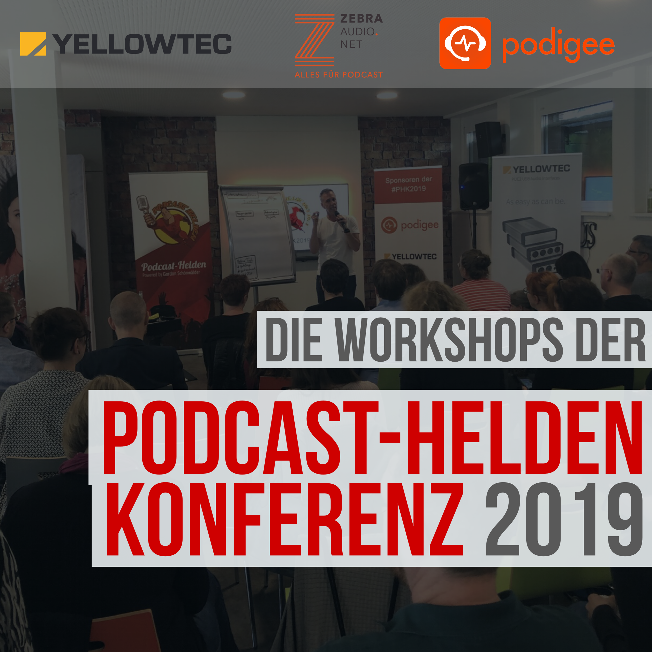 Die Workshops der Podcast-Helden-Konferenz 2019
