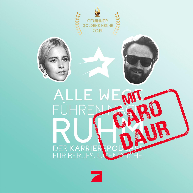 AWFNR #389 mit Caro Daur - Zufallsprodukte, Schokoladenseiten und überbewertete Reiseziele
