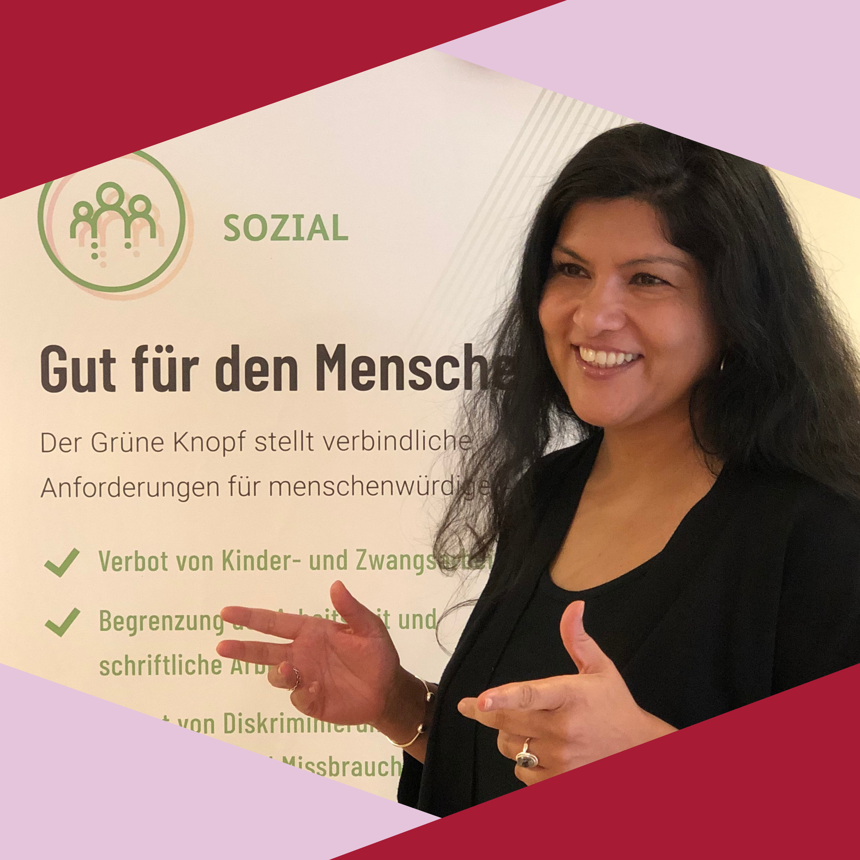 #16 Der Grüne Knopf: Einblicke von Anosha Wahidi aus dem BMZ