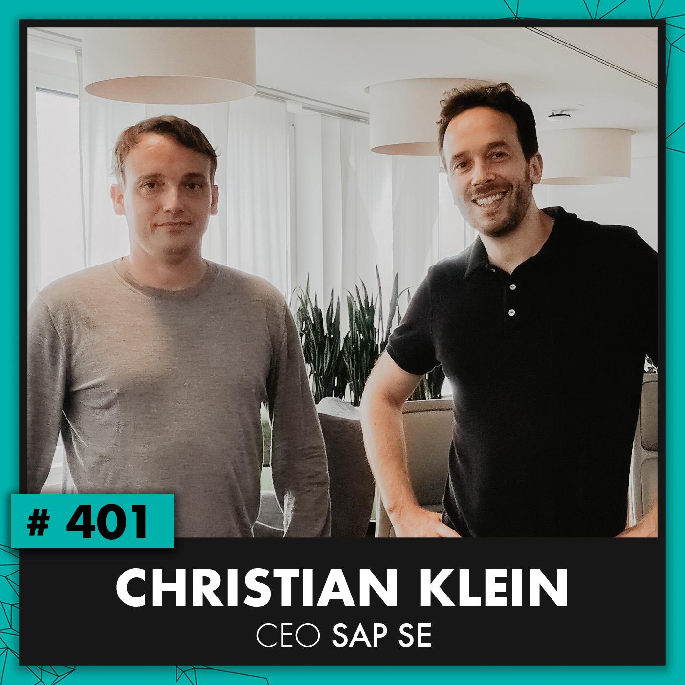 OMR #401 mit SAP-CEO Christian Klein