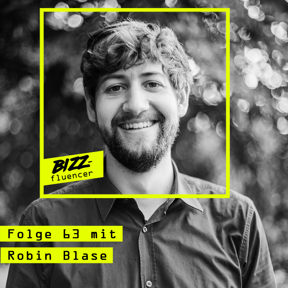 #63 mit Robin Blase (YouTube Expert, Creative Producer & Online Video Consultant | Founder & CEO @ Richtig Cool GmbH)