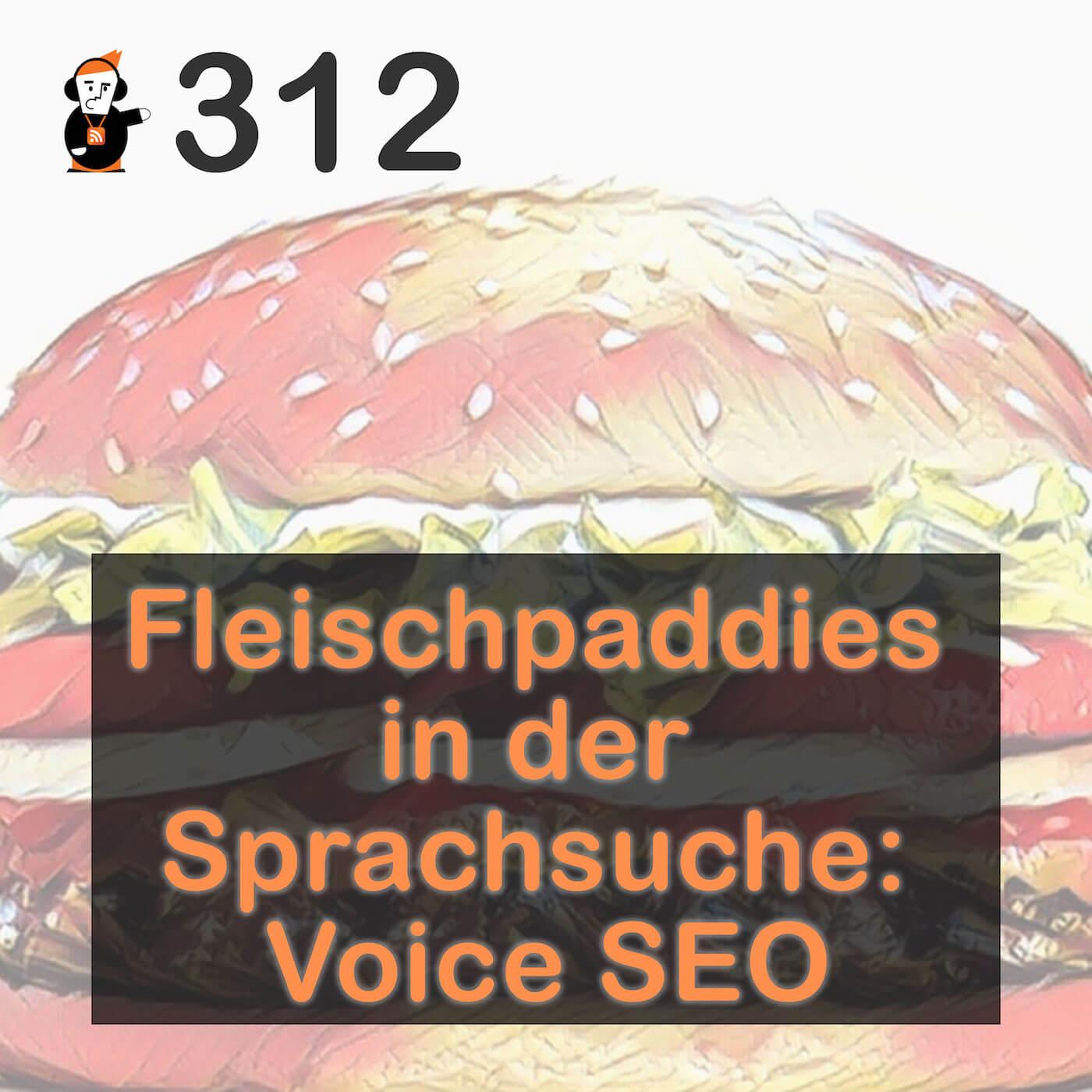 Blick 312 auf Voice SEO: Fleischpaddies in der Sprachsuche