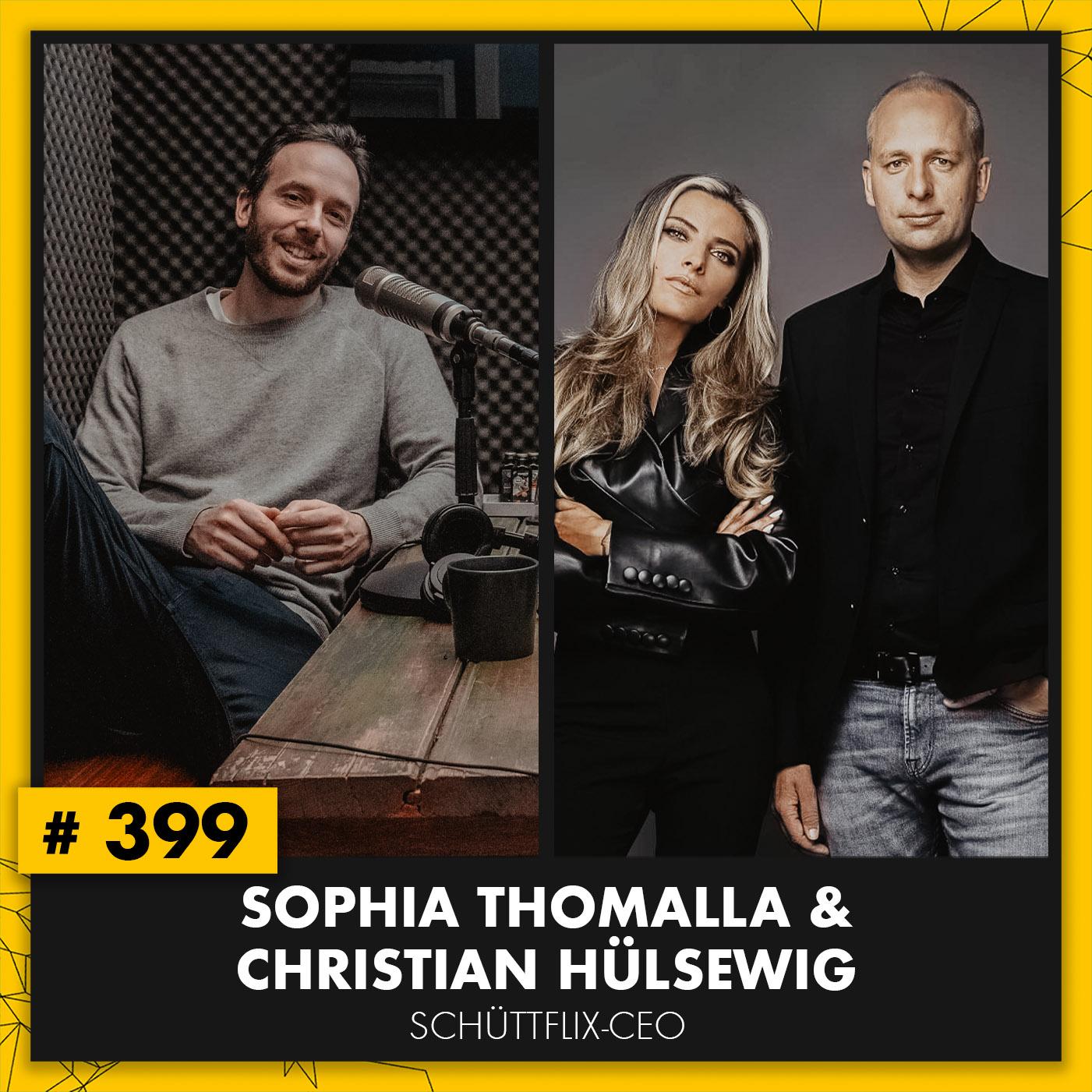 OMR #399 mit Sophia Thomalla und Christian Hülsewig von Schüttflix