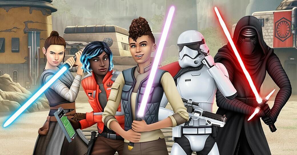 Sims 4 - Star Wars Reise nach Batuu Test