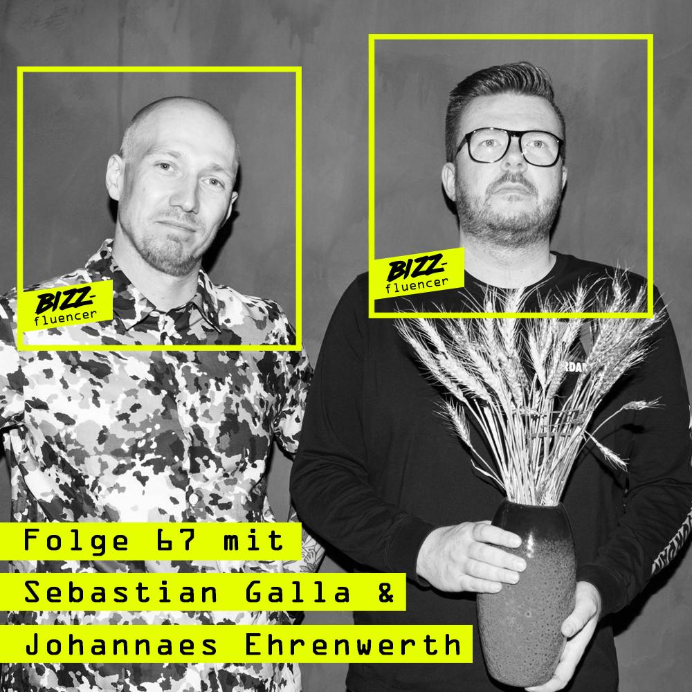 """#67 mit Sebastian Galla und Johannes Ehrenwerth, Gründer der bekannten Instagram-Seite """"Agentur Boomer"""""""