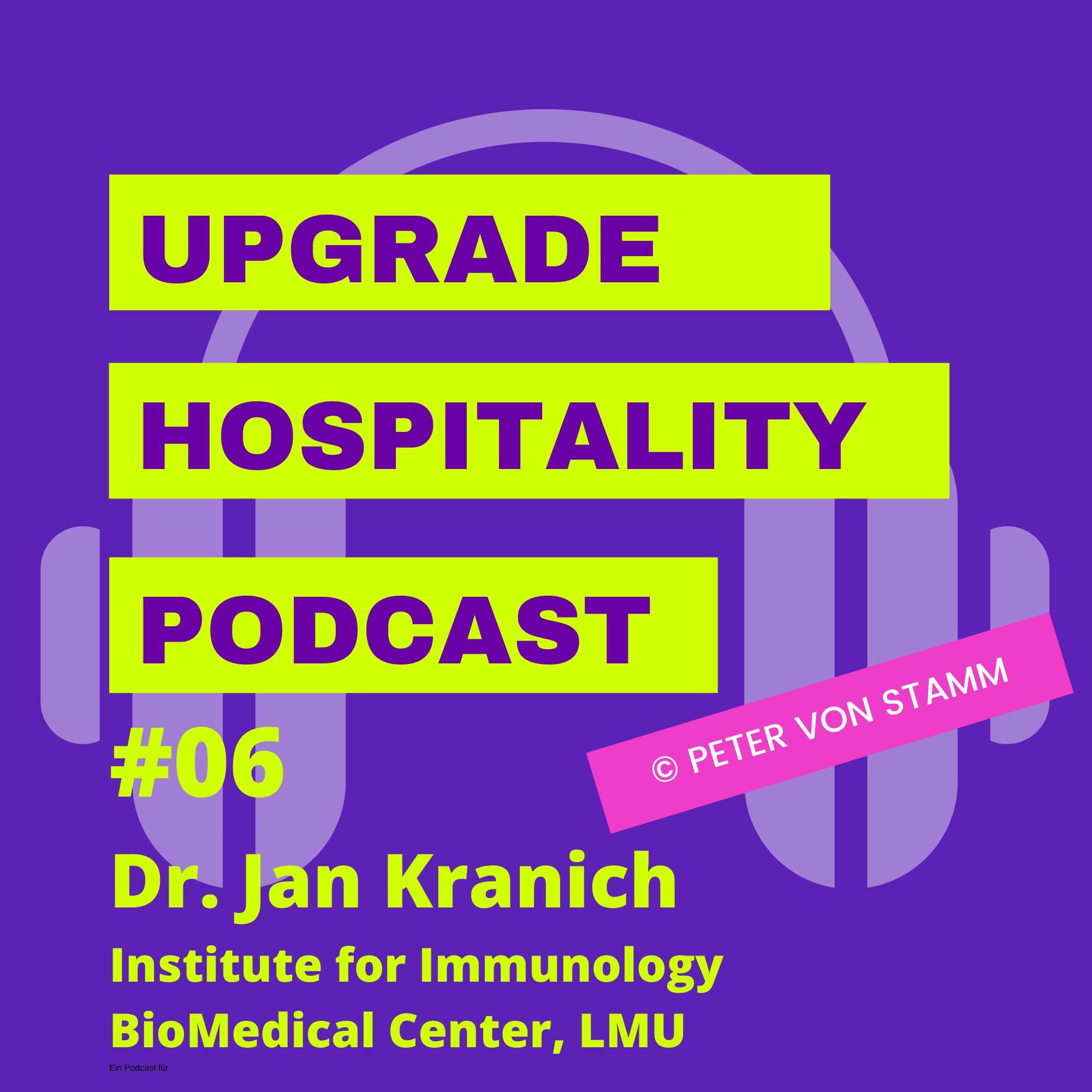 #06: Immunologe meint, Restaurants könne man öffnen, reisen sollten man aber noch nicht! Dr. Jan Kranich erklärt, warum
