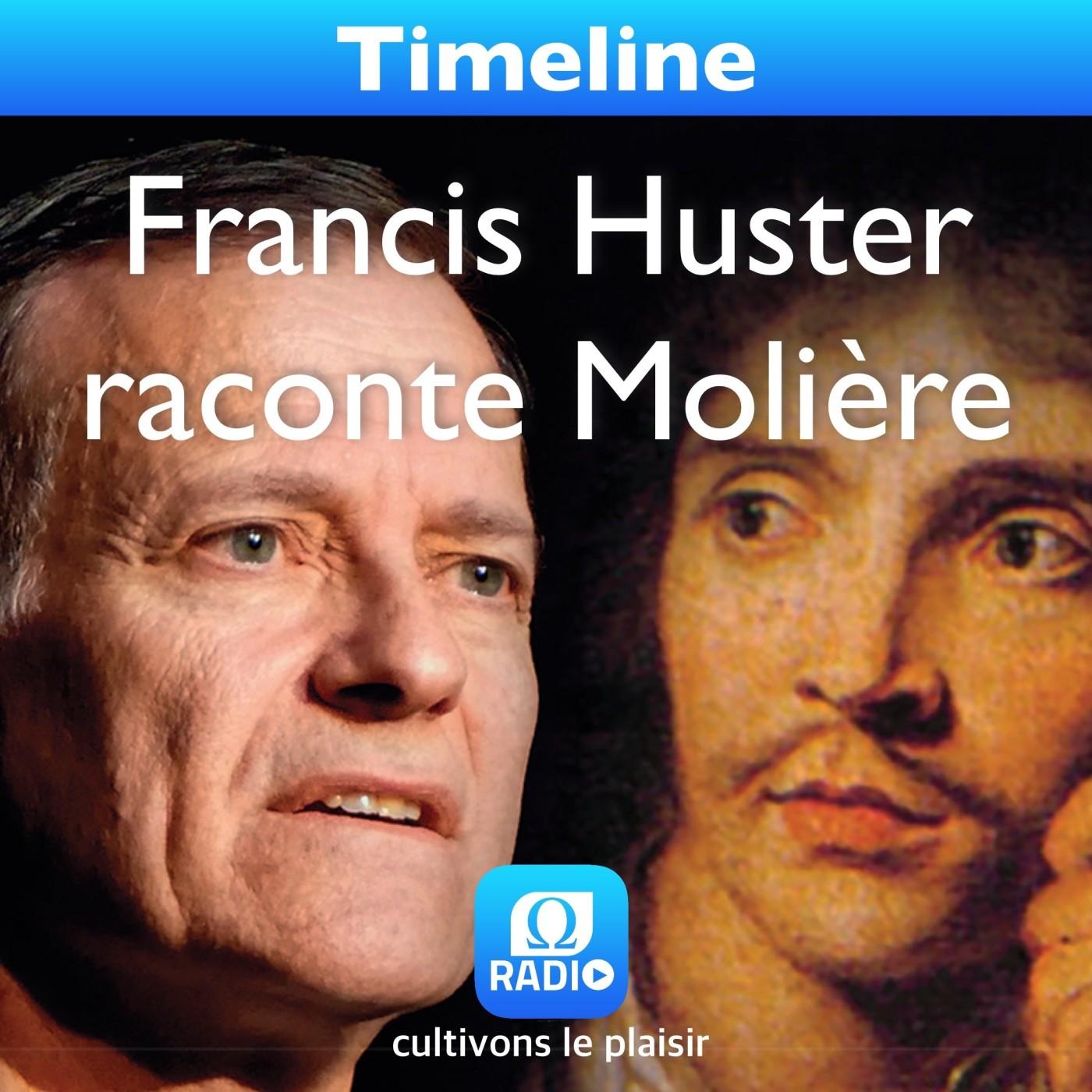 Francis Huster raconte Molière