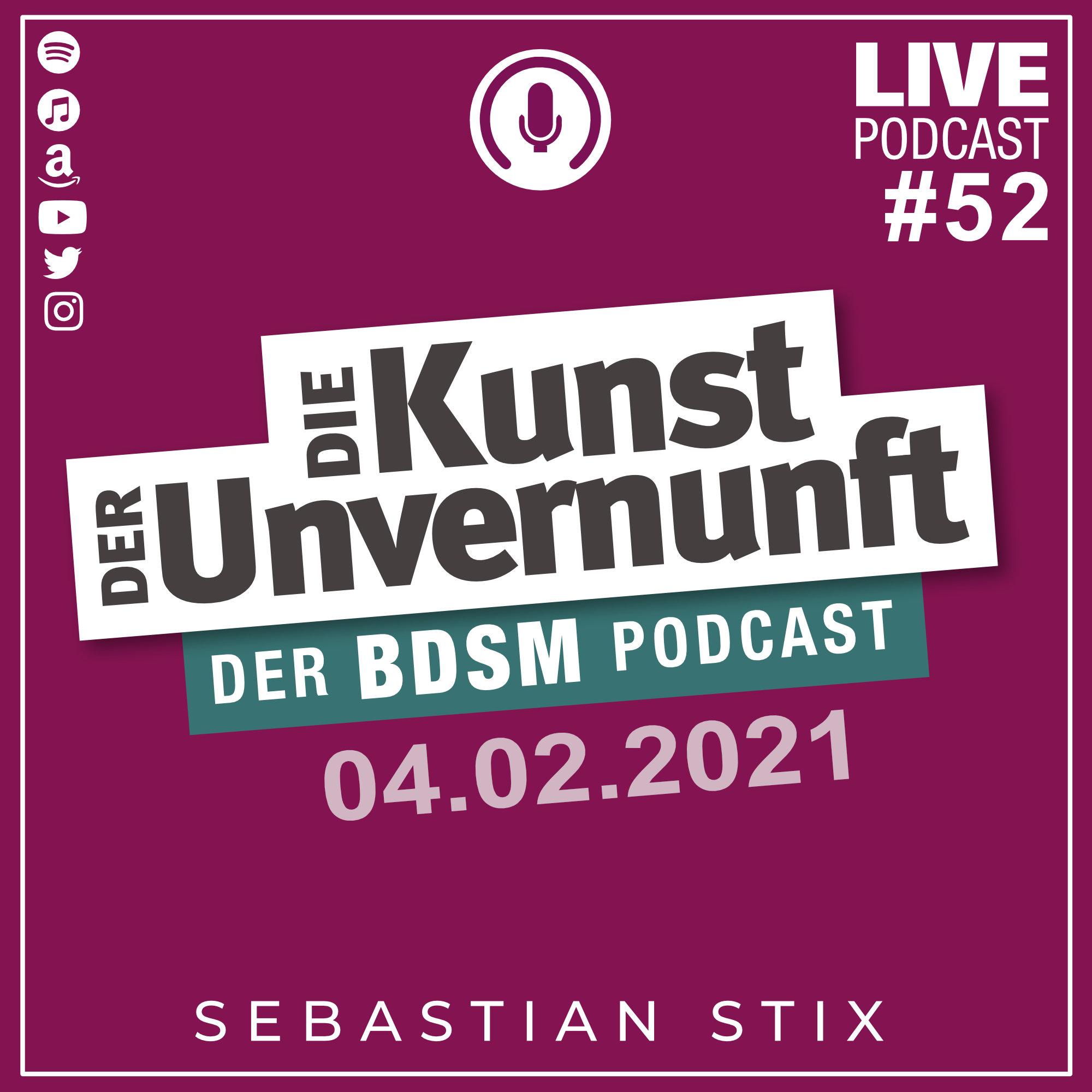 Unvernunft Live 04.02.2021 - Zartbitter-Herrenabend