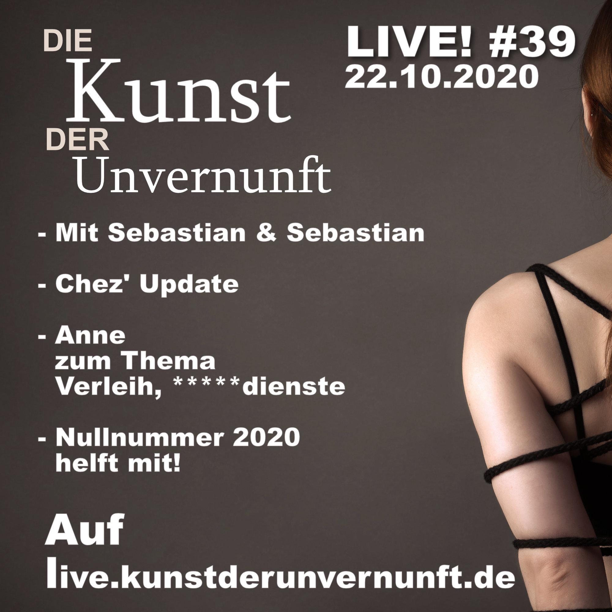 Unvernunft Live 22.10.20 - Die andere Seite
