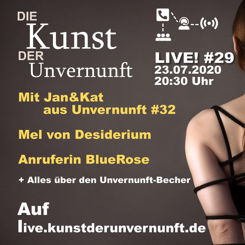 Unvernunft Live v. 23.07. AMA mit Jan&Kat