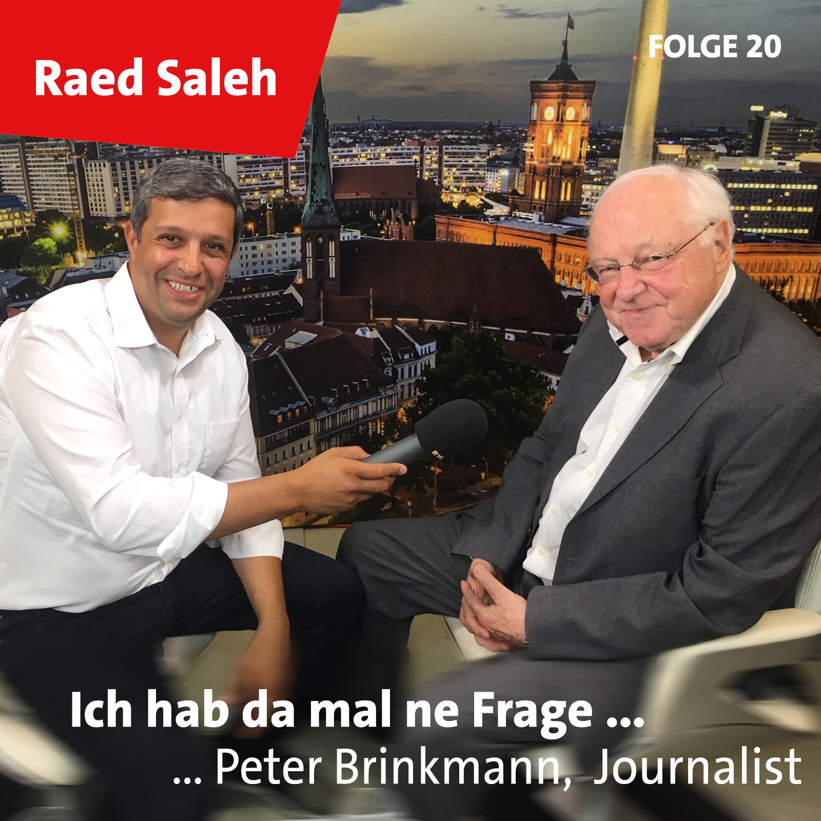 Folge 20: Peter Brinkmann, Journalist