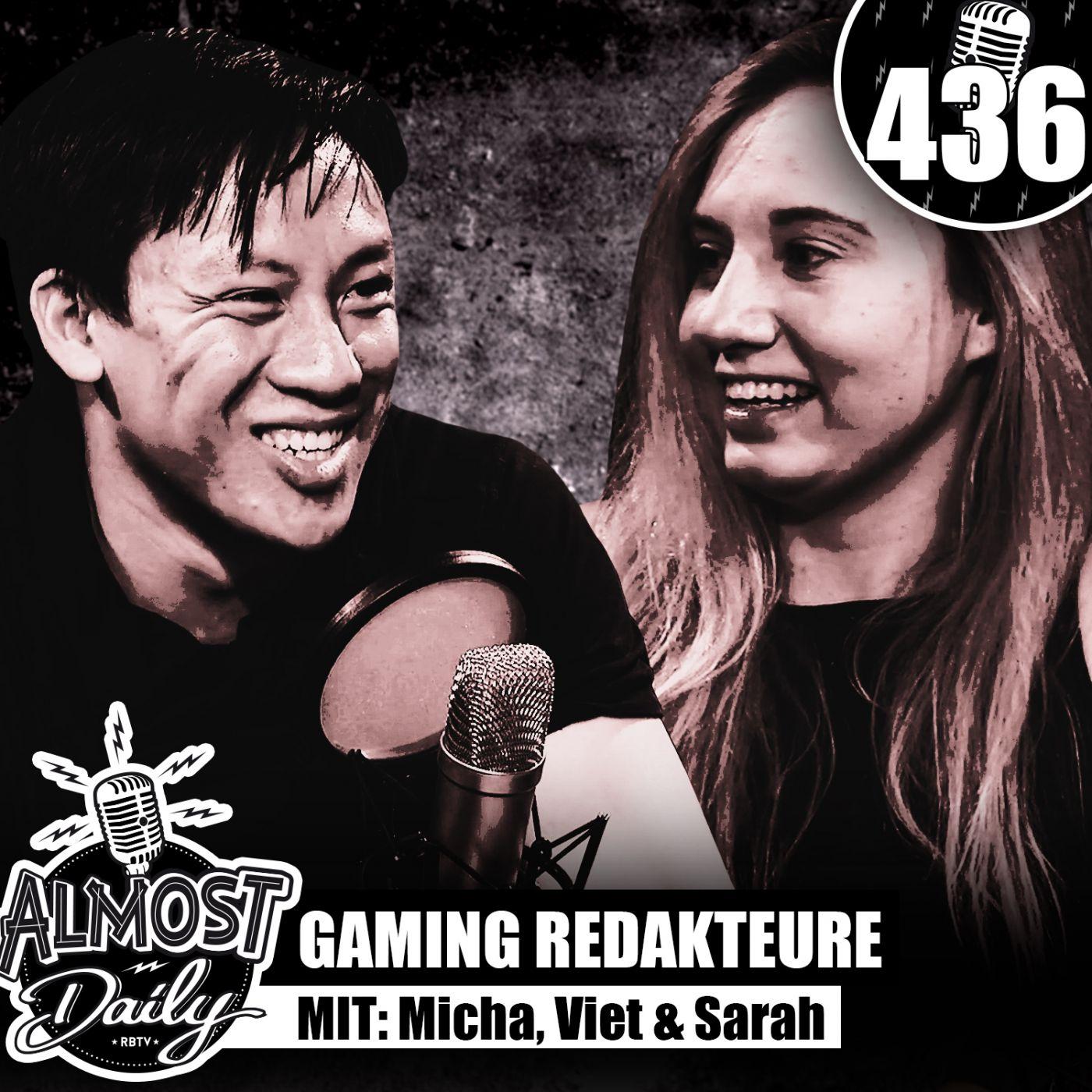 #436   Gaming RedakteurIn werden bei RBTV vs GAME TWO mit Micha, Viet & Sarah