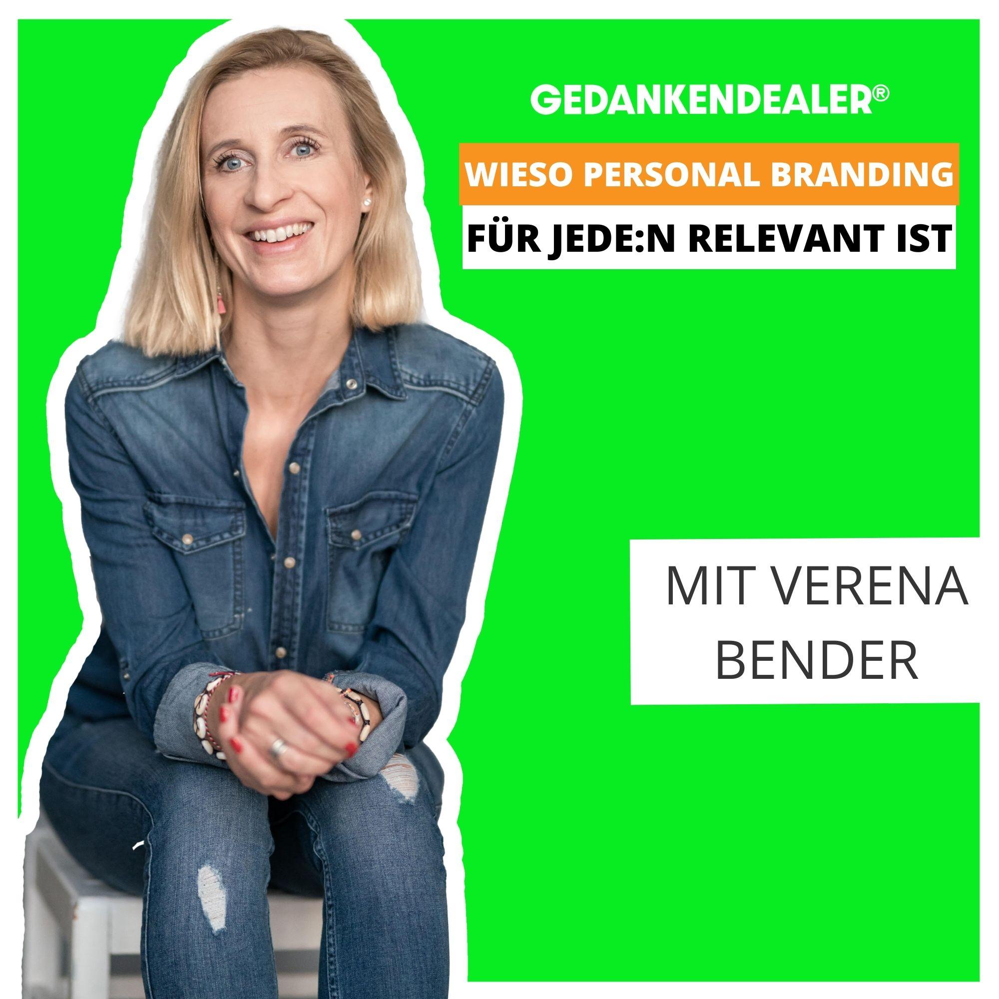 Wieso Personal Branding für jede:n relevant ist. Im Talk mit Verena Bender