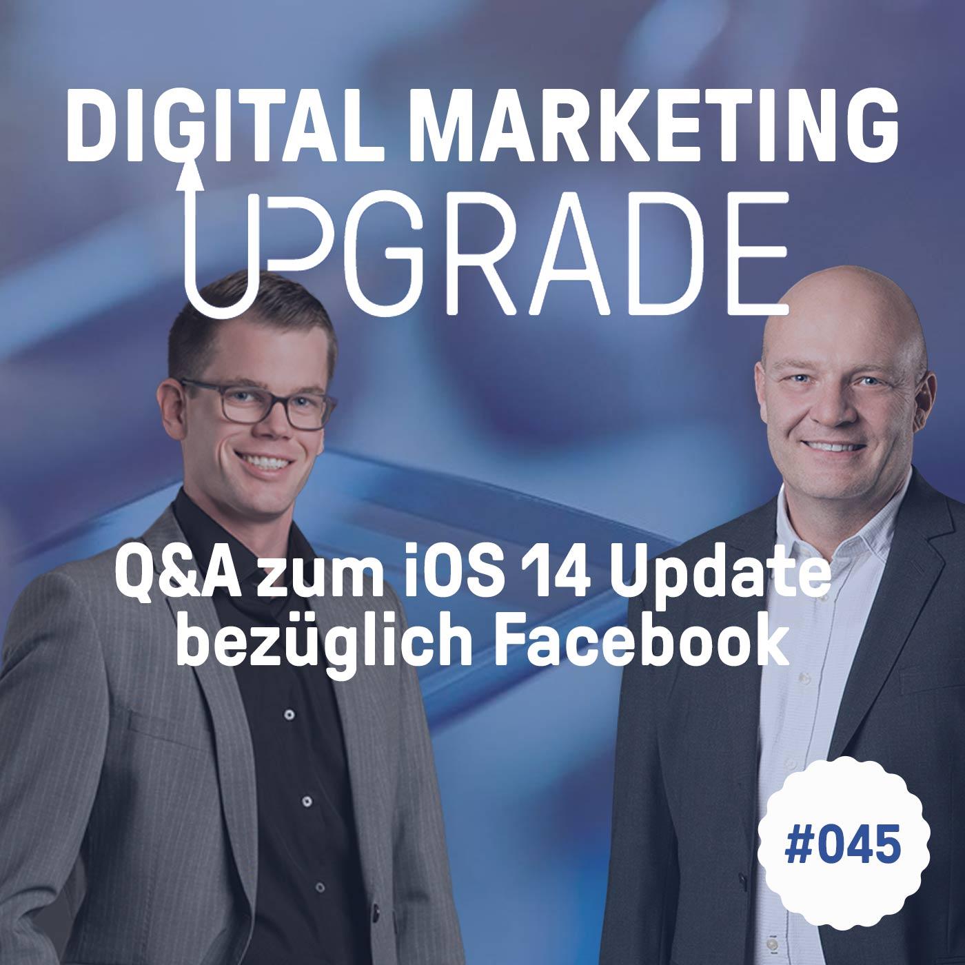 Q&A zum iOS 14 Update bezüglich Facebook - mit Claude Sprenger #045