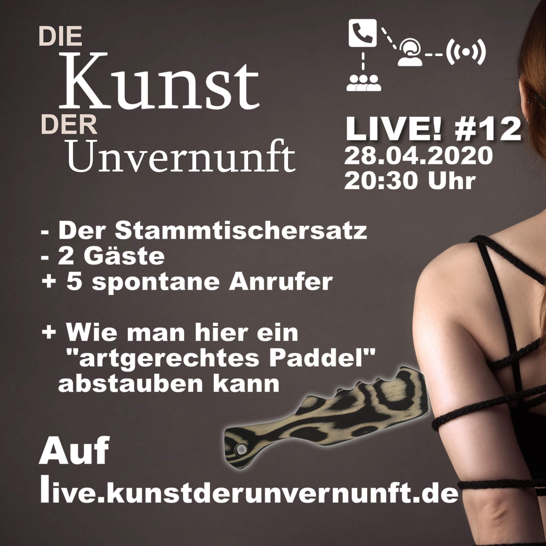 Unvernunft LIVE v. 28.04. - Mit Holzbearbeitung