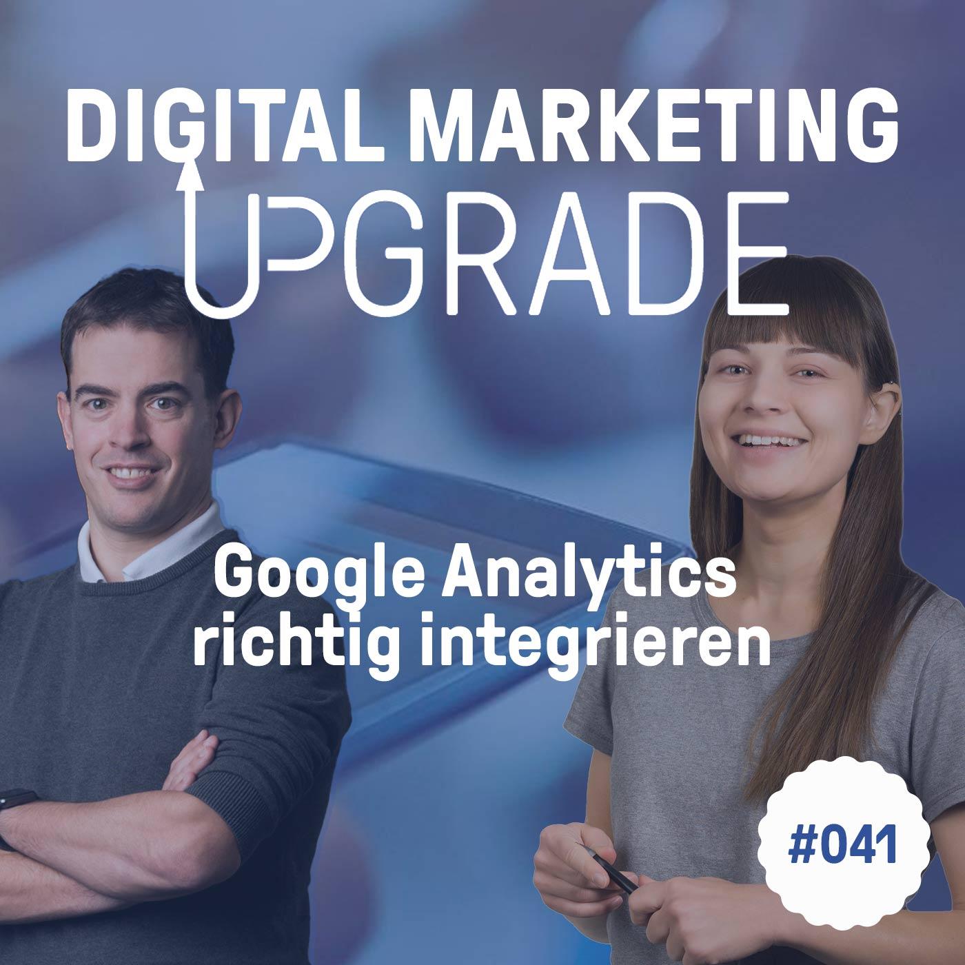 Google Analytics richtig einrichten - mit Maria-Lena Matysik #041