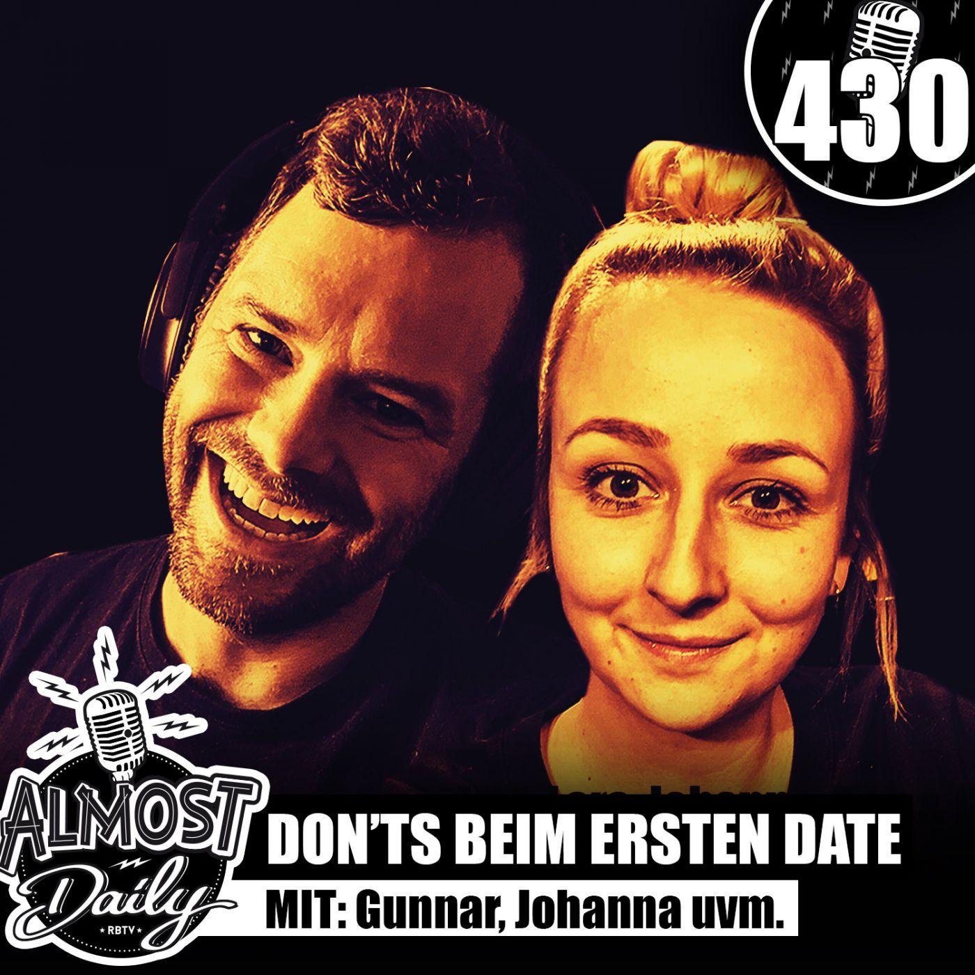 #430   Modesünden von Früher & Don'ts beim ersten Date mit Gunnar, Johanna, Lars & Ben