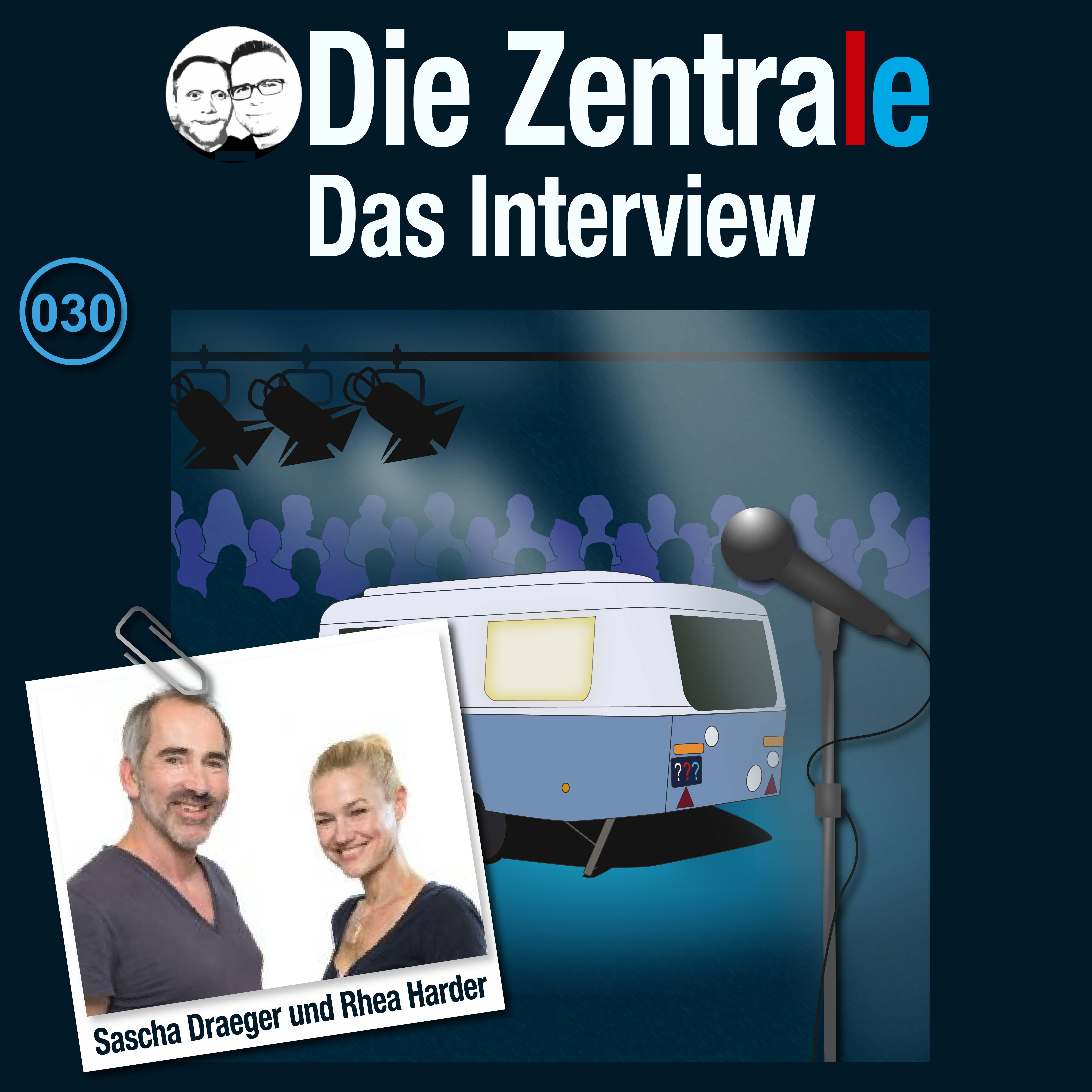 Sonderfolge: Interview mit Sascha Draeger & Rhea Harder-Vennewald von TKKG