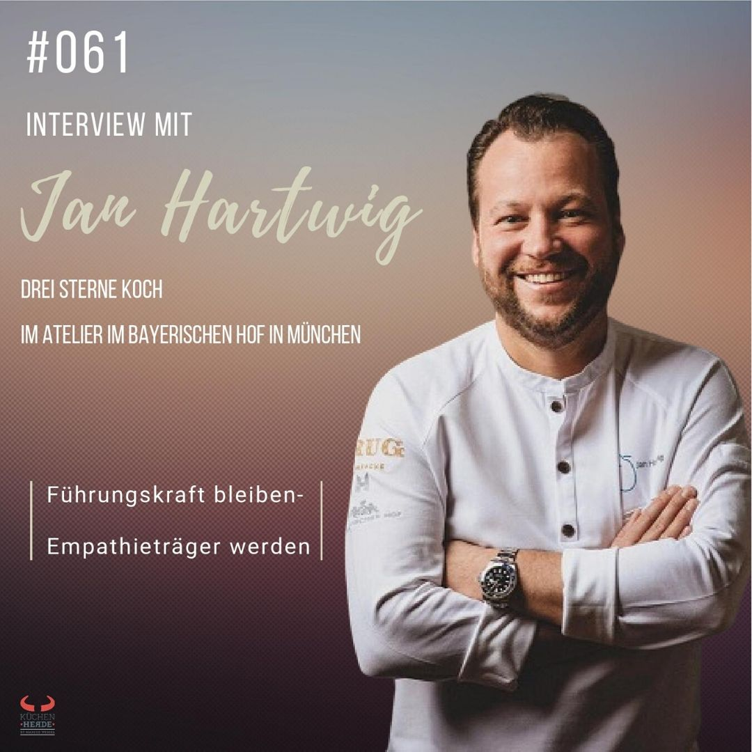 | Interview mit Jan Hartwig - Drei Sterne Koch im Atelier im Bayerischen Hof in München